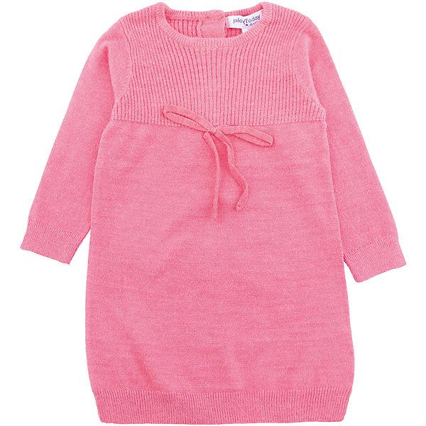 Платье PlayToday для девочкиПлатья<br>Характеристики товара:<br><br>• цвет: розовый<br>• состав ткани: 55% вискоза, 27%полиэстер, 18%нейлон<br>• сезон: демисезон<br>• застежка: пуговицы<br>• длинные рукава<br>• страна бренда: Германия<br>• страна изготовитель: Китай<br><br>Стильное платье для детей сделано из дышащего материала. Такое платье для девочки - удобная и модная вещь. Детское платье - с округлым вырезом, на пуговицах. Детская одежда и обувь от PlayToday - это стильные вещи по доступным ценам. <br><br>Платье PlayToday (ПлэйТудэй) для девочки можно купить в нашем интернет-магазине.<br><br>Ширина мм: 236<br>Глубина мм: 16<br>Высота мм: 184<br>Вес г: 177<br>Цвет: розовый<br>Возраст от месяцев: 6<br>Возраст до месяцев: 9<br>Пол: Женский<br>Возраст: Детский<br>Размер: 74,92,86,80<br>SKU: 7110302