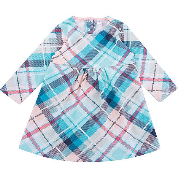 Платье PlayToday для девочкиПлатья<br>Характеристики товара:<br><br>• цвет: голубой<br>• состав ткани: 95% хлопок, 5% эластан<br>• сезон: демисезон<br>• застежка: кнопки<br>• длинные рукава<br>• страна бренда: Германия<br>• страна изготовитель: Китай<br><br>Стильное платье для детей сделано из дышащего материала. Такое платье для девочки - удобная и модная вещь. Детское платье - с округлым вырезом горловины и длинным рукавом. Детская одежда и обувь от PlayToday - это стильные вещи по доступным ценам. <br><br>Платье PlayToday (ПлэйТудэй) для девочки можно купить в нашем интернет-магазине.<br><br>Ширина мм: 236<br>Глубина мм: 16<br>Высота мм: 184<br>Вес г: 177<br>Цвет: белый<br>Возраст от месяцев: 18<br>Возраст до месяцев: 24<br>Пол: Женский<br>Возраст: Детский<br>Размер: 92,86,80,74<br>SKU: 7110367