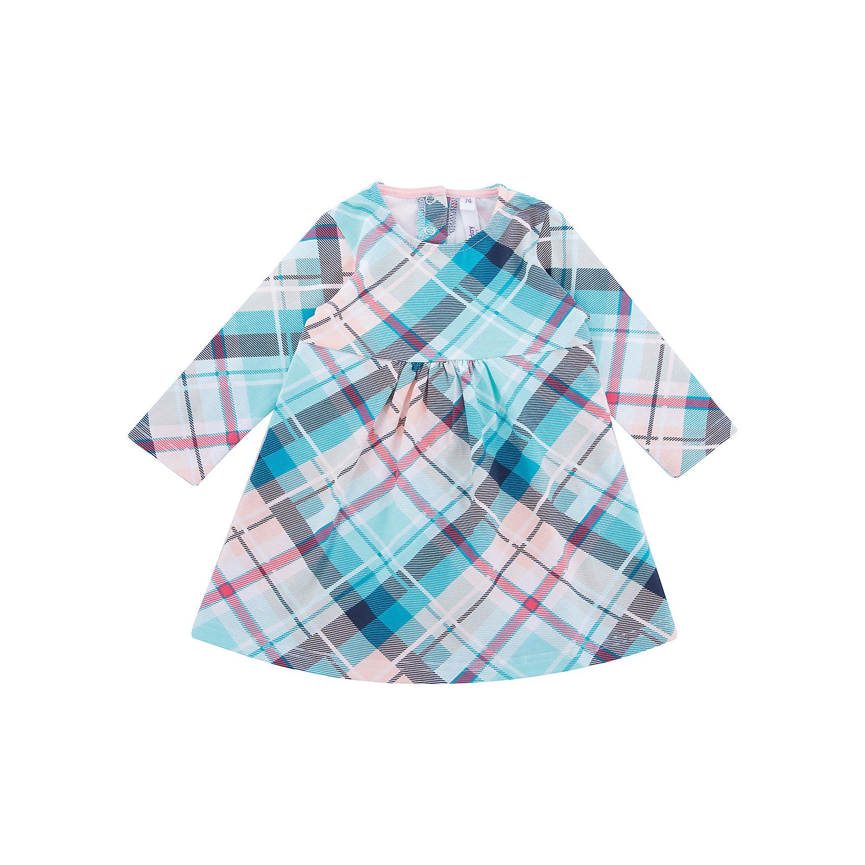 Платье PlayToday для девочкиПлатья<br>Платье PlayToday для девочки<br>Платье с округлым вырезом горловины и длинным рукавом. Модель расклешенная книзу, выполнена из натуральной принтованной ткани. На спинке удобные застежки - кнопки.<br>Состав:<br>95% хлопок, 5% эластан<br><br>Ширина мм: 236<br>Глубина мм: 16<br>Высота мм: 184<br>Вес г: 177<br>Цвет: белый<br>Возраст от месяцев: 18<br>Возраст до месяцев: 24<br>Пол: Женский<br>Возраст: Детский<br>Размер: 92,74,80,86<br>SKU: 7110367