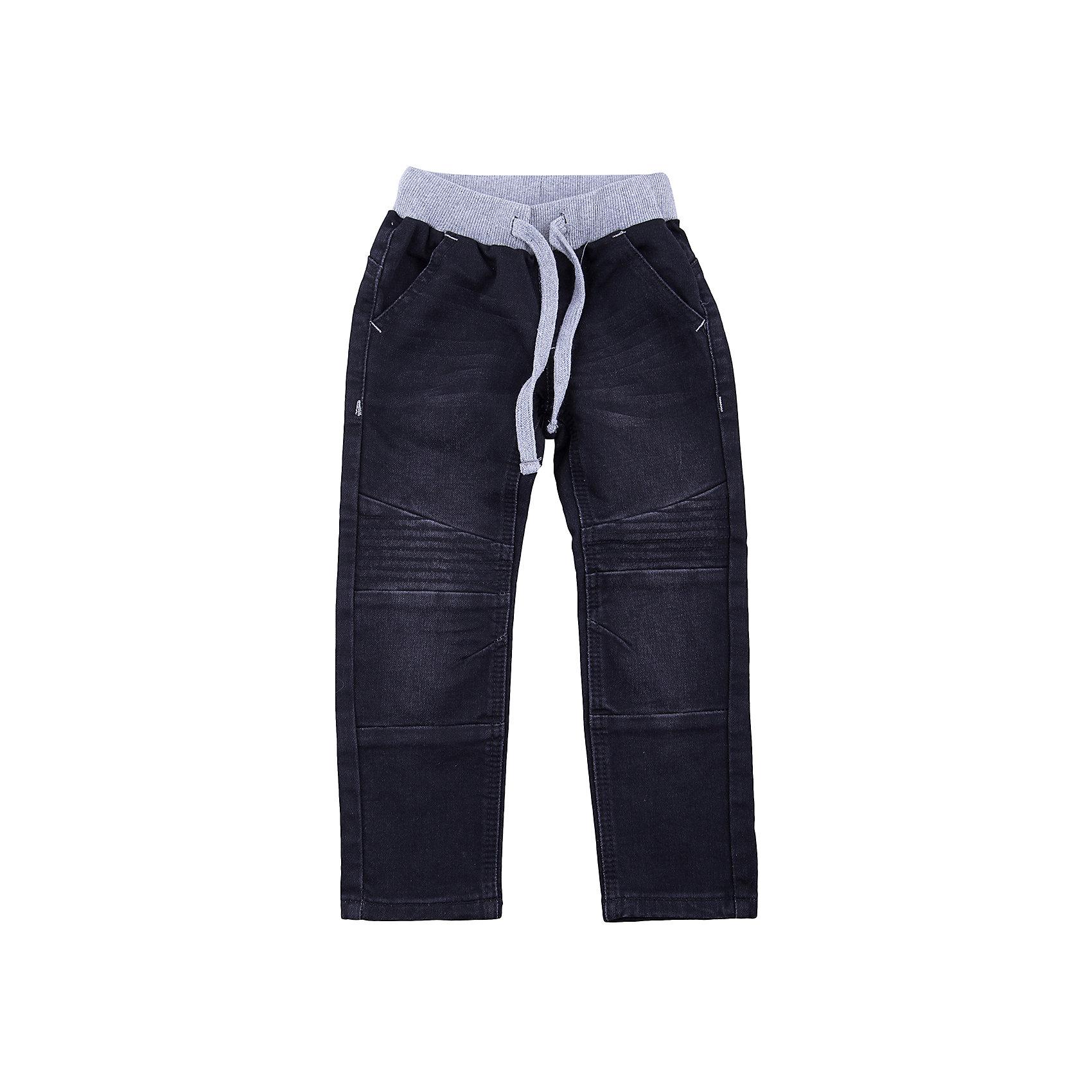 Брюки PlayToday для мальчикаБрюки<br>Брюки PlayToday для мальчика<br>Брюки свободного кроя, выполнены из джинсовой ткани. Пояс на широкой резинке не сдавливающей живот ребенка, с регулируемым шнуром кулиской. Модель дополнена вшивными карманами. В качестве декора использованы заломы и потертости.<br>Состав:<br>78% хлопок, 20% полиэстер, 2% эластан<br><br>Ширина мм: 215<br>Глубина мм: 88<br>Высота мм: 191<br>Вес г: 336<br>Цвет: белый<br>Возраст от месяцев: 84<br>Возраст до месяцев: 96<br>Пол: Мужской<br>Возраст: Детский<br>Размер: 128,98,104,110,116,122<br>SKU: 7110681