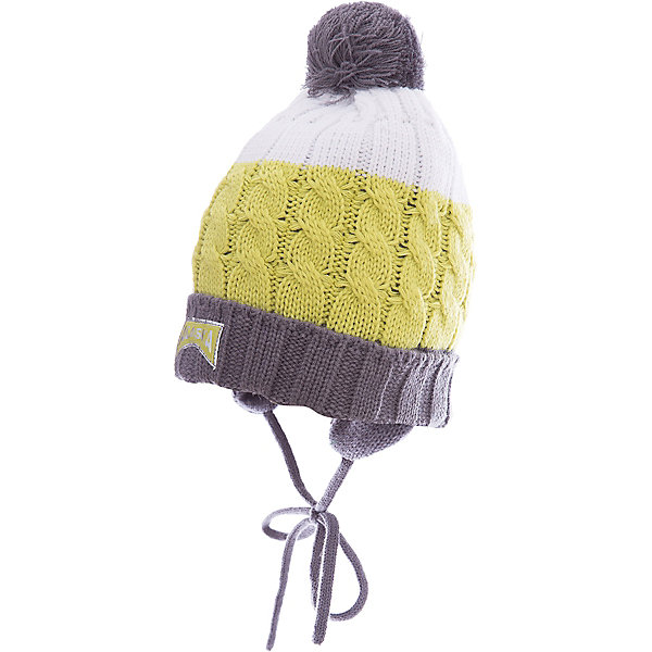 Шапка PlayToday для мальчикаГоловные уборы<br>Характеристики товара:<br><br>• цвет: серый<br>• состав ткани: 100% акрил<br>• сезон: зима<br>• застежка: завязки<br>• страна бренда: Германия<br>• страна изготовитель: Китай<br><br>Шапка для мальчика выполнена в практичном универсальном цвете. Детская шапка комфортно сидит на голове благодаря мягкому материалу. Шапка для детей декорирована помпоном. Детская одежда и обувь от PlayToday - это стильные вещи по доступным ценам. <br><br>Шапку PlayToday (ПлэйТудэй) для мальчика можно купить в нашем интернет-магазине.<br><br>Ширина мм: 89<br>Глубина мм: 117<br>Высота мм: 44<br>Вес г: 155<br>Цвет: белый<br>Возраст от месяцев: 72<br>Возраст до месяцев: 84<br>Пол: Мужской<br>Возраст: Детский<br>Размер: 54,50,52<br>SKU: 7110714