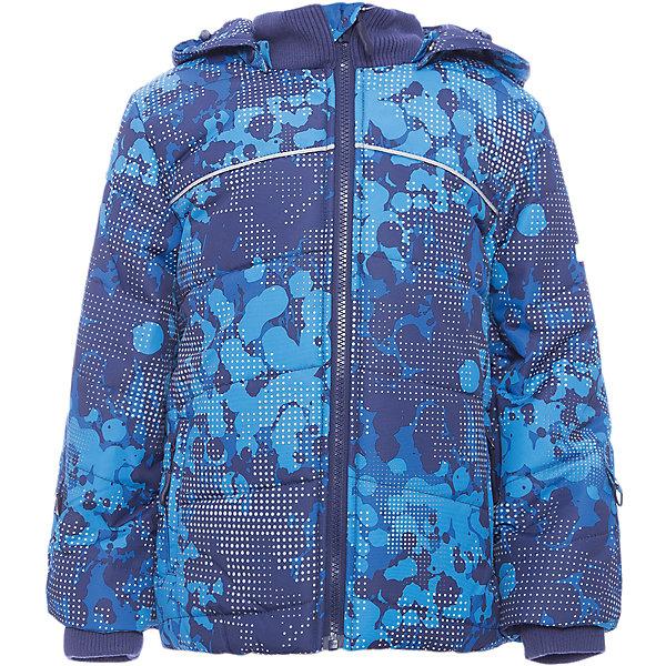 Куртка PlayToday для мальчикаДемисезонные куртки<br>Характеристики товара:<br><br>• цвет: синий<br>• состав ткани: 100% полиэстер<br>• подкладка: 100% полиэстер<br>• утеплитель: 100% полиэстер<br>• сезон: зима<br>• температурный режим: от -20 до +5<br>• плотность утеплителя: 300 г/м2<br>• особенности модели: с капюшоном <br>• застежка: молния<br>• капюшон: без меха, съемный<br>• длинные рукава<br>• страна бренда: Германия<br>• страна изготовитель: Китай<br><br>Детская одежда и обувь от PlayToday - это стильные вещи по доступным ценам. Эта детская куртка - с водоотталкивающей пропиткой. Утепленная куртка для мальчика выполнена в красивой яркой расцветке. Куртка для детей дополнена капюшоном. <br><br>Куртку PlayToday (ПлэйТудэй) для мальчика можно купить в нашем интернет-магазине.<br><br>Ширина мм: 356<br>Глубина мм: 10<br>Высота мм: 245<br>Вес г: 519<br>Цвет: белый<br>Возраст от месяцев: 24<br>Возраст до месяцев: 36<br>Пол: Мужской<br>Возраст: Детский<br>Размер: 98,128,122,116,110,104<br>SKU: 7110746