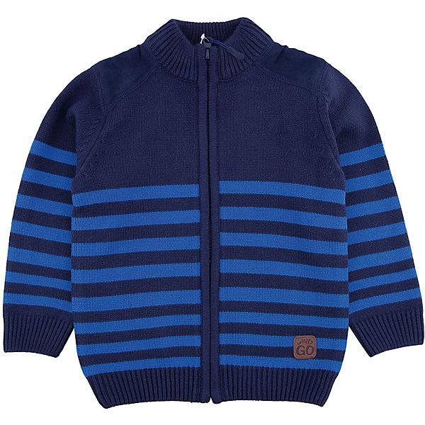 Кардиган PlayToday для мальчикаСвитера и кардиганы<br>Характеристики товара:<br><br>• цвет: синий<br>• состав ткани: 60% хлопок, 40% акрил<br>• сезон: демисезон<br>• застежка: молния<br>• длинные рукава<br>• страна бренда: Германия<br>• страна изготовитель: Китай<br><br>Кардиган для мальчика - удобная и модная вещь. Детский кардиган не линяет и надолго остается в первоначальном виде. Теплый кардиган для детей сделан из мягкого дышащего материала. Одежда и аксессуары для детей от PlayToday - это качественные и красивые вещи. <br><br>Кардиган PlayToday (ПлэйТудэй) для мальчика можно купить в нашем интернет-магазине.<br><br>Ширина мм: 190<br>Глубина мм: 74<br>Высота мм: 229<br>Вес г: 236<br>Цвет: белый<br>Возраст от месяцев: 48<br>Возраст до месяцев: 60<br>Пол: Мужской<br>Возраст: Детский<br>Размер: 110,98,128,122,116,104<br>SKU: 7110802
