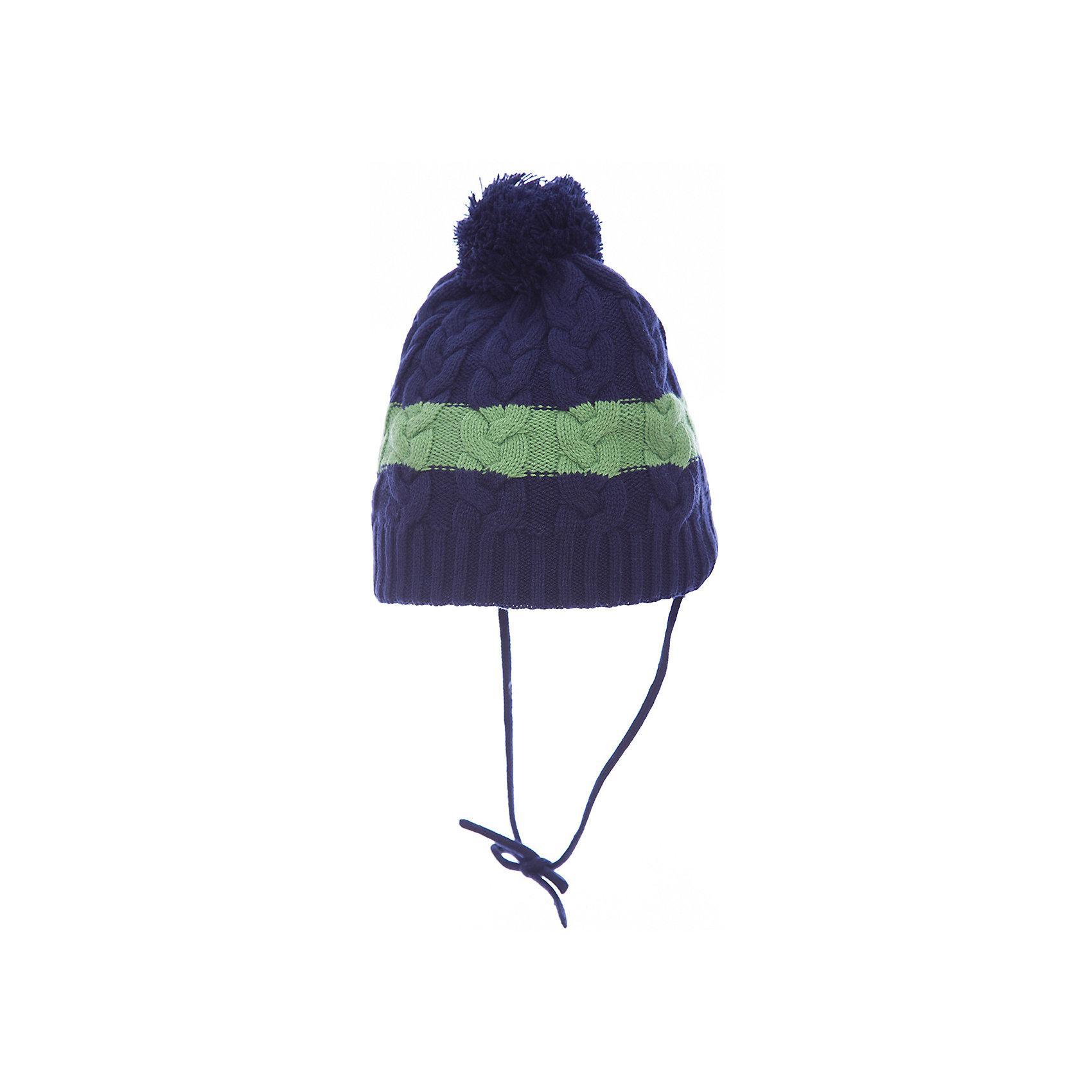 Шапка PlayToday для мальчикаГоловные уборы<br>Шапка PlayToday для мальчика<br>Двуслойная вязаная шапка - отличное решение для прогулок в холодную погоду.  Модель на завязках. Шапка плотно прилегает к голове и комфортна при носке. Модель выполнена в технике yarn dyed - в процессе производства используются разного цвета нити. При рекомендуемом уходе изделие не линяет и надолго остается в первоначальном виде.<br>Состав:<br>60% хлопок, 40% акрил<br><br>Ширина мм: 89<br>Глубина мм: 117<br>Высота мм: 44<br>Вес г: 155<br>Цвет: белый<br>Возраст от месяцев: 72<br>Возраст до месяцев: 84<br>Пол: Мужской<br>Возраст: Детский<br>Размер: 54,50,52<br>SKU: 7110897
