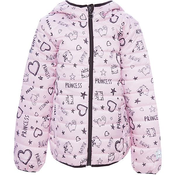 Куртка PlayToday для девочкиВерхняя одежда<br>Характеристики товара:<br><br>• цвет: розовый<br>• состав ткани: 100% полиэстер<br>• подкладка: 100% полиэстер<br>• утеплитель: 100% полиэстер<br>• сезон: демисезон<br>• температурный режим: от -10 до +10<br>• плотность утеплителя: 150 г/м2<br>• особенности модели: с капюшоном <br>• застежка: молния<br>• капюшон: без меха, несъемный<br>• длинные рукава<br>• страна бренда: Германия<br>• страна изготовитель: Китай<br><br>Детская одежда и обувь от PlayToday - это стильные вещи по доступным ценам. Эта детская куртка - с карманами на молнии. Утепленная куртка для девочки выполнена в красивой яркой расцветке. Куртка для детей дополнена капюшоном. <br><br>Куртку PlayToday (ПлэйТудэй) для девочки можно купить в нашем интернет-магазине.<br><br>Ширина мм: 356<br>Глубина мм: 10<br>Высота мм: 245<br>Вес г: 519<br>Цвет: белый<br>Возраст от месяцев: 24<br>Возраст до месяцев: 36<br>Пол: Женский<br>Возраст: Детский<br>Размер: 98,128,122,116,110,104<br>SKU: 7110952
