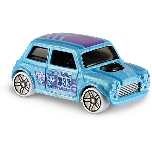 Базовая машинка Hot Wheels, Morris MiniМашинки<br>Характеристики товара:<br><br>• возраст: от 3 лет;<br>• материал: пластик, металл;<br>• масштаб: 1:64;<br>• размер упаковки: 11х11х4,5 см;<br>• вес упаковки: 30 гр.;<br>• страна бренда: США.<br><br>Машинка Hot Wheels из базовой коллекции — легендарная коллекционная машинка от известного бренда Mattel. Машинка отличается высокой детализацией, выглядит эффектно, корпус выполнен в ярких расцветках. Она дополнит большую коллекцию машинок Hot Wheels. Выполнена из прочных и безопасных материалов.<br><br>Машинку Hot Wheels из базовой коллекции можно приобрести в нашем интернет-магазине.<br>Ширина мм: 110; Глубина мм: 45; Высота мм: 110; Вес г: 30; Возраст от месяцев: 36; Возраст до месяцев: 96; Пол: Мужской; Возраст: Детский; SKU: 7111069;