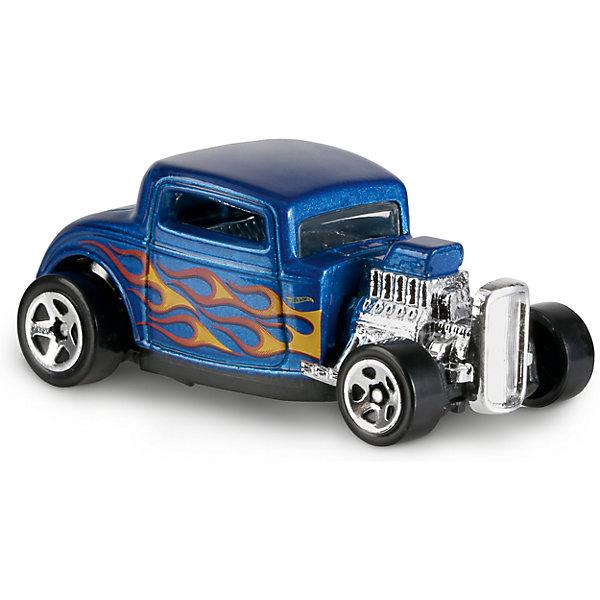Базовая машинка Hot Wheels, 32 FordПопулярные игрушки<br><br>Ширина мм: 110; Глубина мм: 45; Высота мм: 110; Вес г: 30; Возраст от месяцев: 36; Возраст до месяцев: 96; Пол: Мужской; Возраст: Детский; SKU: 7111074;