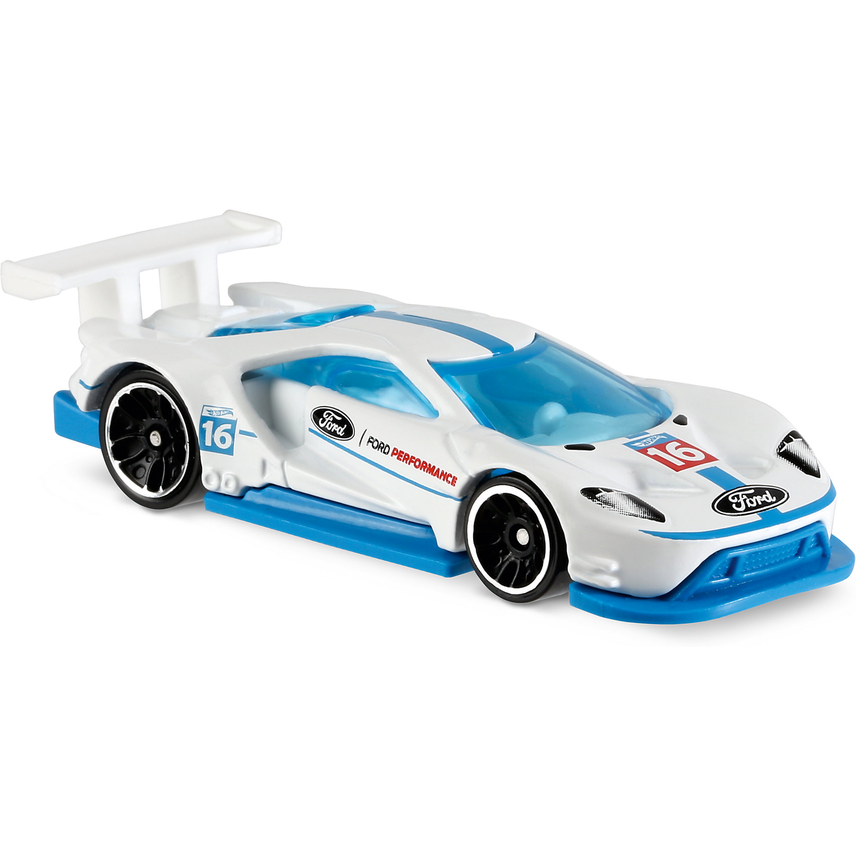 Базовая машинка Hot Wheels, 2016 Ford GT RaceМашинки<br><br><br>Ширина мм: 110<br>Глубина мм: 45<br>Высота мм: 110<br>Вес г: 30<br>Возраст от месяцев: 36<br>Возраст до месяцев: 96<br>Пол: Мужской<br>Возраст: Детский<br>SKU: 7111077