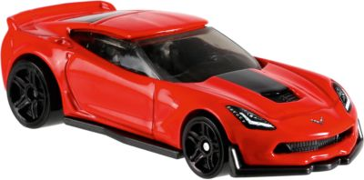Mattel Базовая машинка Hot Wheels, Corvette C7 Z06