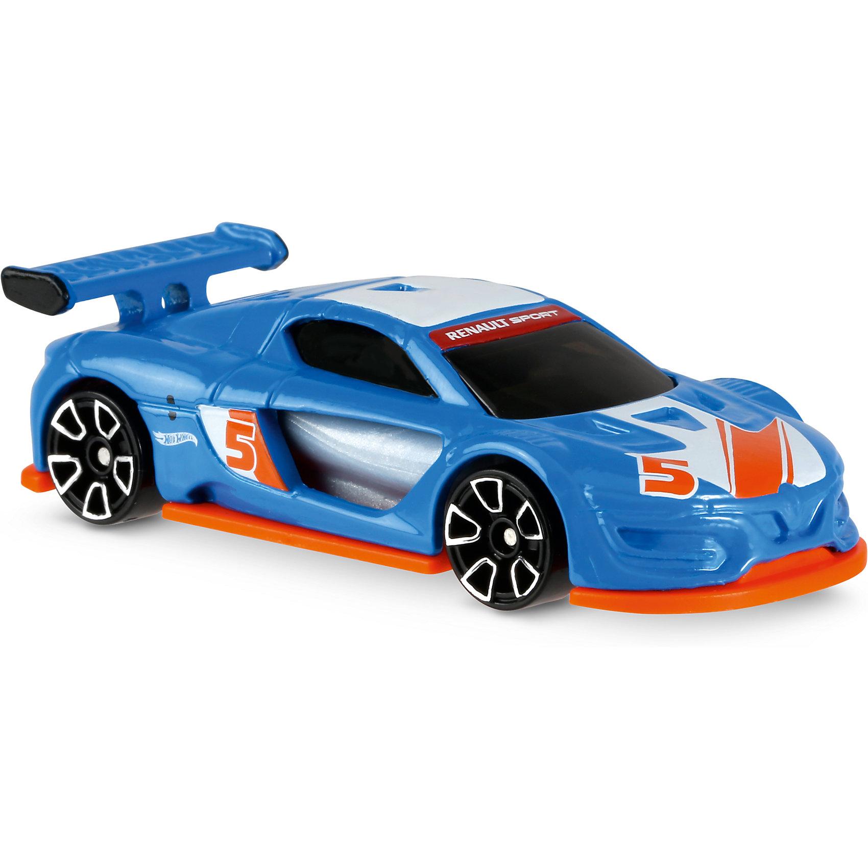 Базовая машинка Hot Wheels, Renault Sport R.S. 01Машинки<br><br><br>Ширина мм: 110<br>Глубина мм: 45<br>Высота мм: 110<br>Вес г: 30<br>Возраст от месяцев: 36<br>Возраст до месяцев: 96<br>Пол: Мужской<br>Возраст: Детский<br>SKU: 7111084