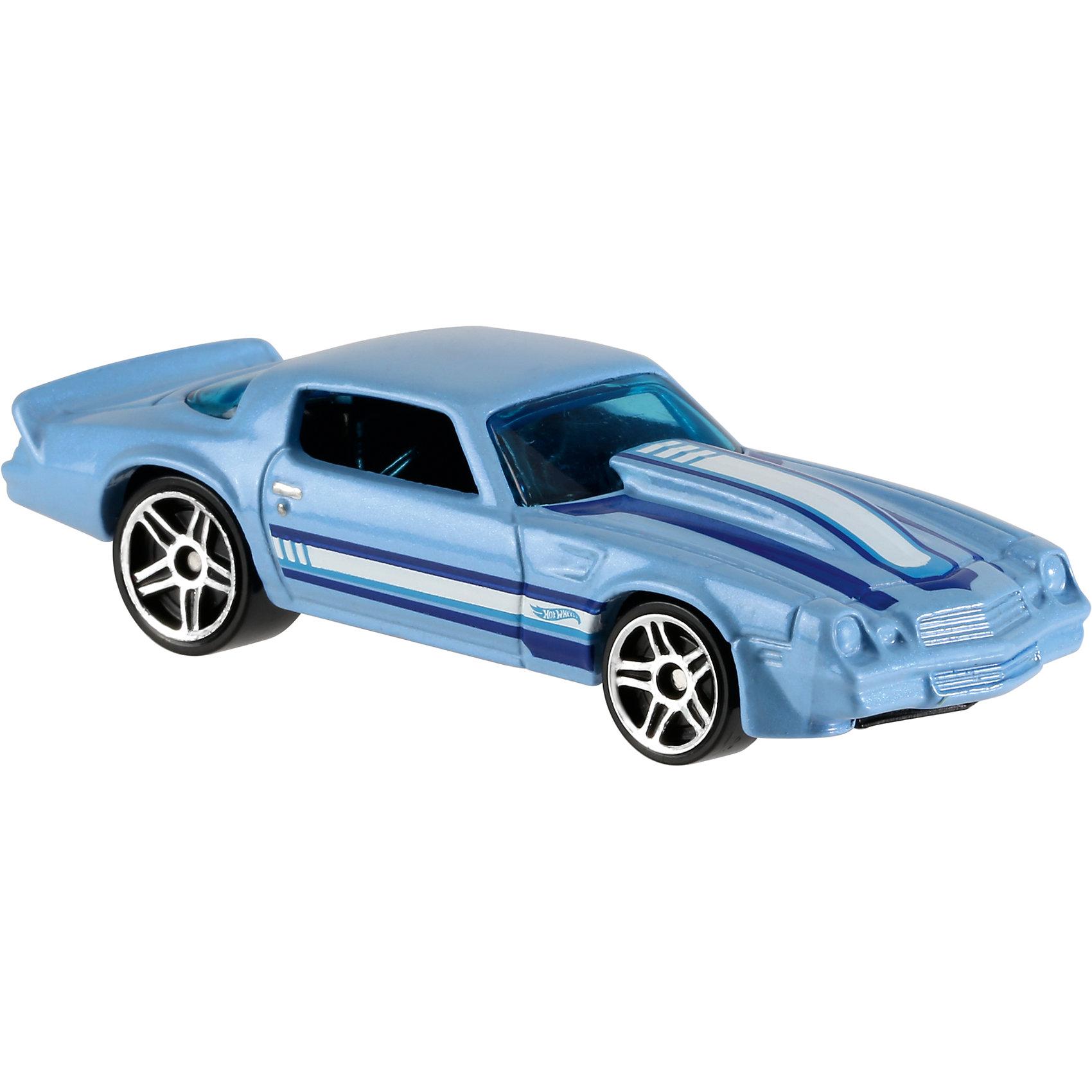 Базовая машинка Hot Wheels, 81 CamaroМашинки<br><br><br>Ширина мм: 110<br>Глубина мм: 45<br>Высота мм: 110<br>Вес г: 30<br>Возраст от месяцев: 36<br>Возраст до месяцев: 96<br>Пол: Мужской<br>Возраст: Детский<br>SKU: 7111085