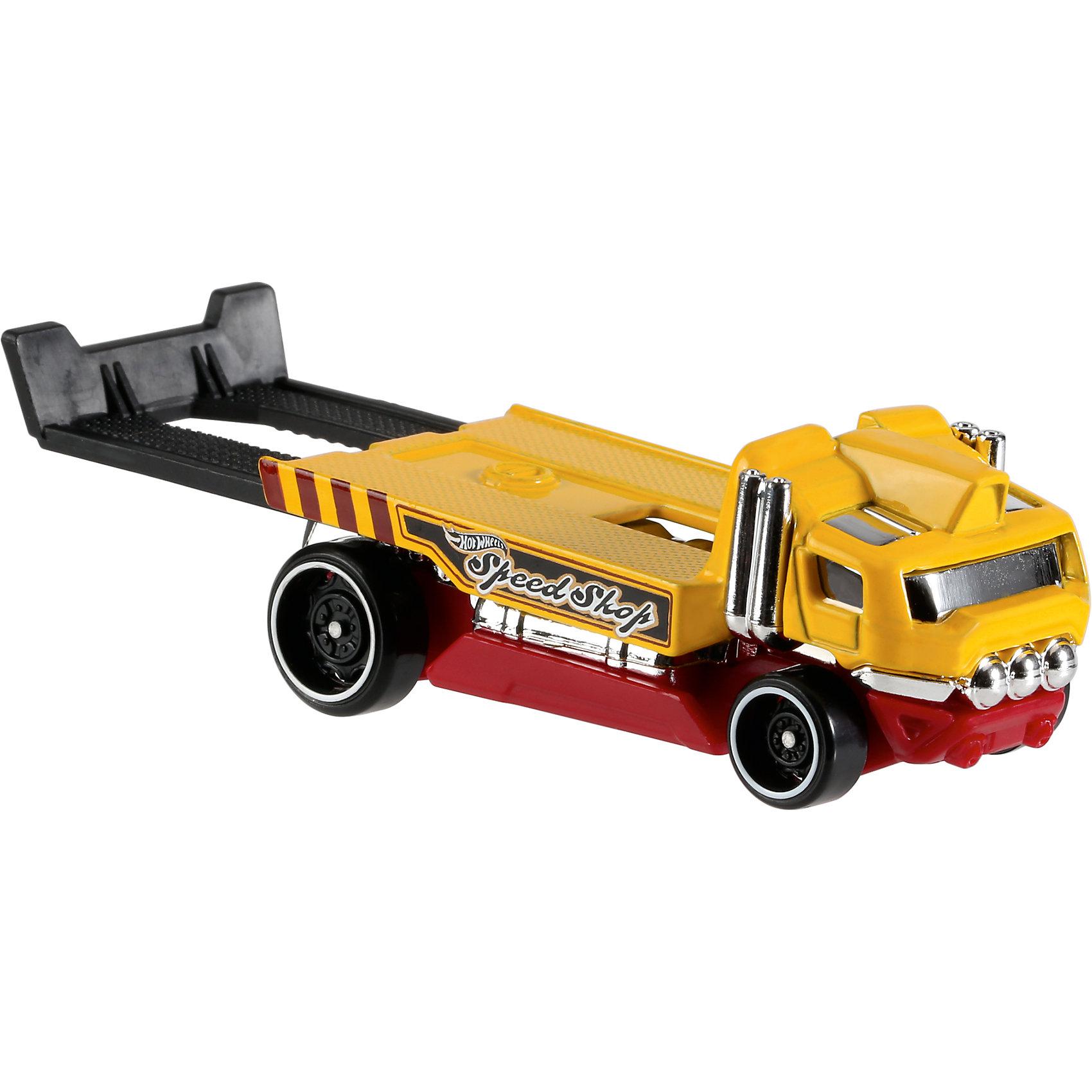 Базовая машинка Hot Wheels, The HaulinatorПопулярные игрушки<br><br><br>Ширина мм: 110<br>Глубина мм: 45<br>Высота мм: 110<br>Вес г: 30<br>Возраст от месяцев: 36<br>Возраст до месяцев: 96<br>Пол: Мужской<br>Возраст: Детский<br>SKU: 7111089