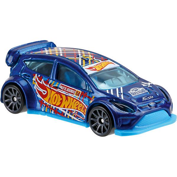 Базовая машинка Hot Wheels, 12 Ford FiestaПопулярные игрушки<br><br>Ширина мм: 110; Глубина мм: 45; Высота мм: 110; Вес г: 30; Возраст от месяцев: 36; Возраст до месяцев: 96; Пол: Мужской; Возраст: Детский; SKU: 7111092;