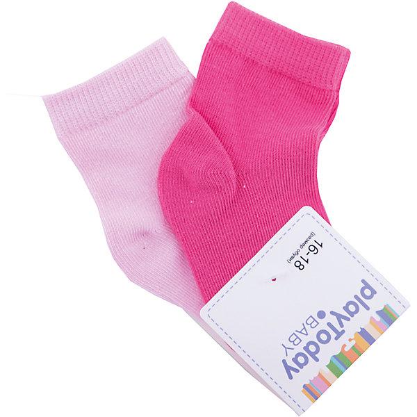 Носки PlayToday для девочкиНоски<br>Характеристики товара:<br><br>• цвет: розовый<br>• комплектация: 2 пары<br>• состав ткани: 75% хлопок, 22% нейлон, 3% эластан<br>• сезон: круглый год<br>• страна бренда: Германия<br>• страна изготовитель: Китай<br><br>Удобные детские носки хорошо сохраняют форму и яркость цвета. Эти трикотажные носки для мальчика выполнены в красивой расцветке. Носки для детей сделаны из дышащего мягкого материала. Детская одежда и обувь от PlayToday - это стильные вещи по доступным ценам. <br><br>Носки PlayToday (ПлэйТудэй) для мальчика можно купить в нашем интернет-магазине.<br><br>Ширина мм: 87<br>Глубина мм: 10<br>Высота мм: 105<br>Вес г: 115<br>Цвет: белый<br>Возраст от месяцев: 12<br>Возраст до месяцев: 18<br>Пол: Женский<br>Возраст: Детский<br>Размер: 11,12<br>SKU: 7111197