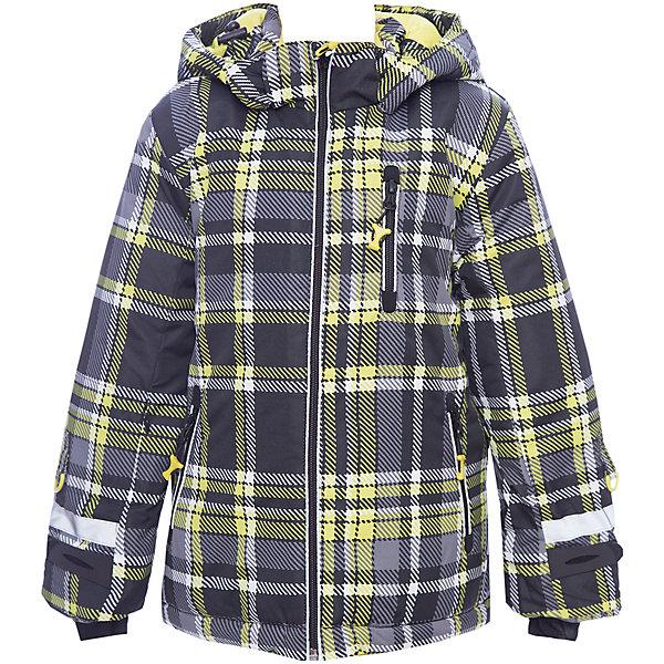 Куртка PlayToday для мальчикаДемисезонные куртки<br>Характеристики товара:<br><br>• цвет: черный<br>• состав ткани: 100% полиэстер<br>• подкладка: 100% полиэстер<br>• утеплитель: 100% полиэстер<br>• сезон: зима<br>• температурный режим: от -20 до +5<br>• плотность утеплителя: 300 г/м2<br>• особенности модели: с капюшоном <br>• застежка: молния<br>• капюшон: без меха, съемный<br>• длинные рукава<br>• страна бренда: Германия<br>• страна изготовитель: Китай<br><br>Детская одежда и обувь от PlayToday - это стильные вещи по доступным ценам. Эта детская куртка - с водоотталкивающей пропиткой и снегозащитной юбкой. Утепленная куртка для мальчика выполнена в красивой яркой расцветке. Куртка для детей дополнена капюшоном и светоотражающими элементами. <br><br>Куртку PlayToday (ПлэйТудэй) для мальчика можно купить в нашем интернет-магазине.<br>Ширина мм: 356; Глубина мм: 10; Высота мм: 245; Вес г: 519; Цвет: белый; Возраст от месяцев: 48; Возраст до месяцев: 60; Пол: Мужской; Возраст: Детский; Размер: 110,140,98,104,116,122,128,134; SKU: 7111220;