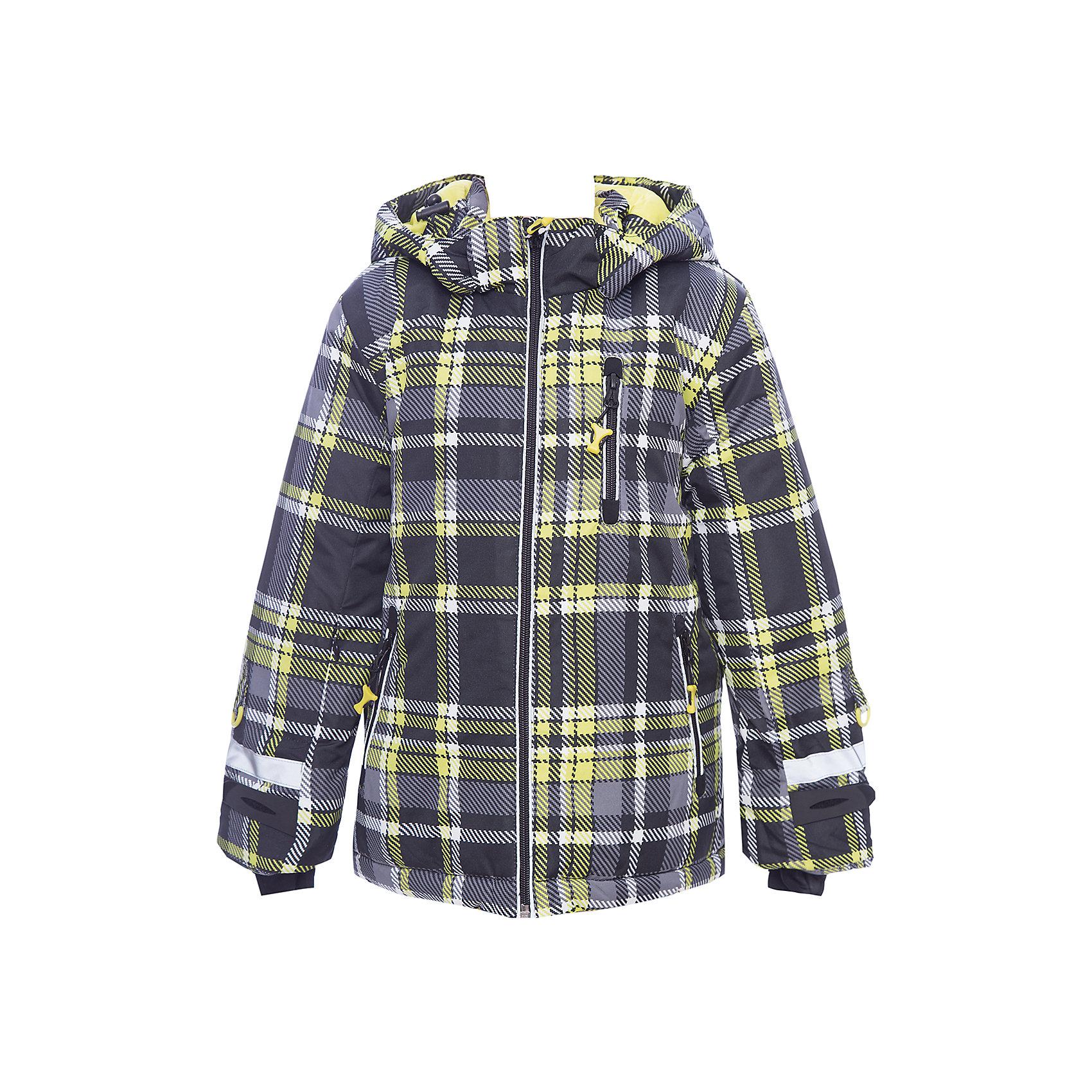Куртка PlayToday для мальчикаДемисезонные куртки<br>Куртка PlayToday для мальчика<br>Теплая куртка отлично подойдет для катания со снежных гор! Модель из ткани с водоотталкивающей пропиткой. Капюшон на кнопках, по контуру дополнен регулируемым шнуром - кулиской. Специальные плотные манжеты с отверстием для большого пальца предохраняют от попадания снега. Куртка со снегозащитной юбкой. Подкладка из теплого флиса. Рукава дополнены специальными кольцами для перчаток, предусмотрен вшивной карман для ski pass. Светоотражающие элементы позволят видеть ребенка в темное время суток. Застежки для манжетов из плотного силикона для дополнительного сохранения тепла.<br>Состав:<br>Верх: 100% полиэстер, Подкладка: 100% полиэстер, Наполнитель: 100% полиэстер, 300 г/м2<br><br>Ширина мм: 356<br>Глубина мм: 10<br>Высота мм: 245<br>Вес г: 519<br>Цвет: белый<br>Возраст от месяцев: 48<br>Возраст до месяцев: 60<br>Пол: Мужской<br>Возраст: Детский<br>Размер: 110,140,98,104,116,122,128,134<br>SKU: 7111220