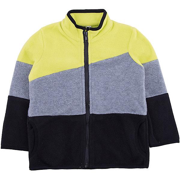 Куртка PlayToday для мальчикаФлис и термобелье<br>Характеристики товара:<br><br>• цвет: черный<br>• состав ткани: 100% полиэстер<br>• сезон: демисезон<br>• застежка: молния<br>• длинные рукава<br>• страна бренда: Германия<br>• страна изготовитель: Китай<br><br>Такая толстовка для мальчика подойдет в качестве второго слоя для прогулок в холодную погоду. Детская толстовка обеспечит ребенку тепло и комфорт. Толстовка для детей дополнена молнией. Детская одежда и обувь от европейского бренда PlayToday - выбор многих родителей. <br><br>Толстовку PlayToday (ПлэйТудэй) для мальчика можно купить в нашем интернет-магазине.<br><br>Ширина мм: 356<br>Глубина мм: 10<br>Высота мм: 245<br>Вес г: 519<br>Цвет: белый<br>Возраст от месяцев: 24<br>Возраст до месяцев: 36<br>Пол: Мужской<br>Возраст: Детский<br>Размер: 98,104,110,116,122,128,140,134<br>SKU: 7111247