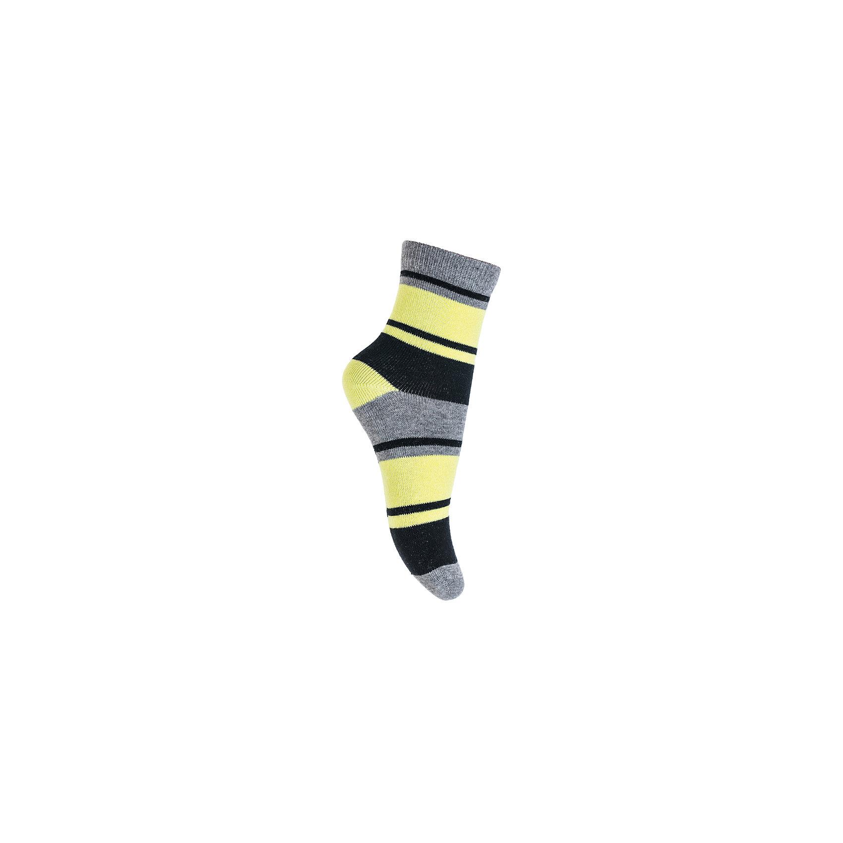 Носки PlayToday для мальчикаНоски<br>Носки PlayToday для мальчика<br>Носки очень мягкие, из  натуральных материалов, приятные к телу и не сковывают движений. Хорошо пропускают воздух, тем самым позволяя коже дышать. Даже частые стирки, при условии соблюдений рекомендаций по уходу, не изменят ни форму, ни цвет изделия. Модель выполнена в технике - yarn dyed - в процессе производства в полотне используются разного цвета нити.  Мягкая резинка не сдавливает нежную детскую кожу.<br>Состав:<br>75% хлопок, 22% нейлон, 3% эластан<br><br>Ширина мм: 87<br>Глубина мм: 10<br>Высота мм: 105<br>Вес г: 115<br>Цвет: белый<br>Возраст от месяцев: 108<br>Возраст до месяцев: 120<br>Пол: Мужской<br>Возраст: Детский<br>Размер: 20,14,16,18<br>SKU: 7111292