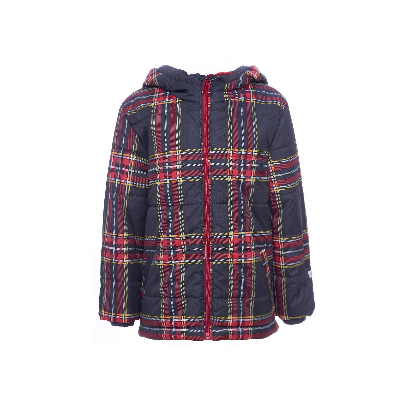 Куртка PlayToday для мальчикаВерхняя одежда<br>Куртка PlayToday для мальчика<br>Утепленная куртка из водоотталкивающей ткани. Модель на молнии, специальный карман для фиксации бегунка у горловины куртки не позволит застежке травмировать нежную детскую кожу. Модель дополнена вшивным капюшоном. Низ куртки на регулируемом шнуре - кулиске со специальными скрытыми карманами для стопперов. Манжеты модели на мягких трикотажных резинках для дополнительного сохранения тепла.<br>Состав:<br>Верх: 100% полиэстер, Подкладка: 100% полиэстер, Наполнитель: 100% полиэстер, 200 г/м2<br><br>Ширина мм: 356<br>Глубина мм: 10<br>Высота мм: 245<br>Вес г: 519<br>Цвет: белый<br>Возраст от месяцев: 84<br>Возраст до месяцев: 96<br>Пол: Мужской<br>Возраст: Детский<br>Размер: 128,98,104,110,116,122<br>SKU: 7111302