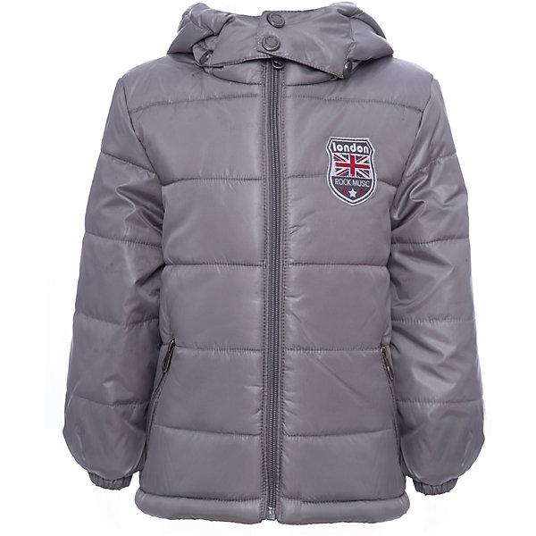 Куртка PlayToday для мальчикаВерхняя одежда<br>Характеристики товара:<br><br>• цвет: серый<br>• состав ткани: 100% полиэстер<br>• подкладка: 100% полиэстер<br>• утеплитель: 100% полиэстер<br>• сезон: демисезон<br>• температурный режим: от -10 до +10<br>• плотность утеплителя: 200 г/м2<br>• особенности модели: с капюшоном <br>• застежка: молния<br>• капюшон: без меха, съемный<br>• длинные рукава<br>• страна бренда: Германия<br>• страна изготовитель: Китай<br><br>Детская одежда и обувь от PlayToday - это стильные вещи по доступным ценам. Эта детская куртка - с водоотталкивающей пропиткой. Утепленная куртка для мальчика выполнена в практичной расцветке. Куртка для детей дополнена капюшоном. <br><br>Куртку PlayToday (ПлэйТудэй) для мальчика можно купить в нашем интернет-магазине.<br><br>Ширина мм: 356<br>Глубина мм: 10<br>Высота мм: 245<br>Вес г: 519<br>Цвет: серый<br>Возраст от месяцев: 84<br>Возраст до месяцев: 96<br>Пол: Мужской<br>Возраст: Детский<br>Размер: 128,98,104,110,116,122<br>SKU: 7111309