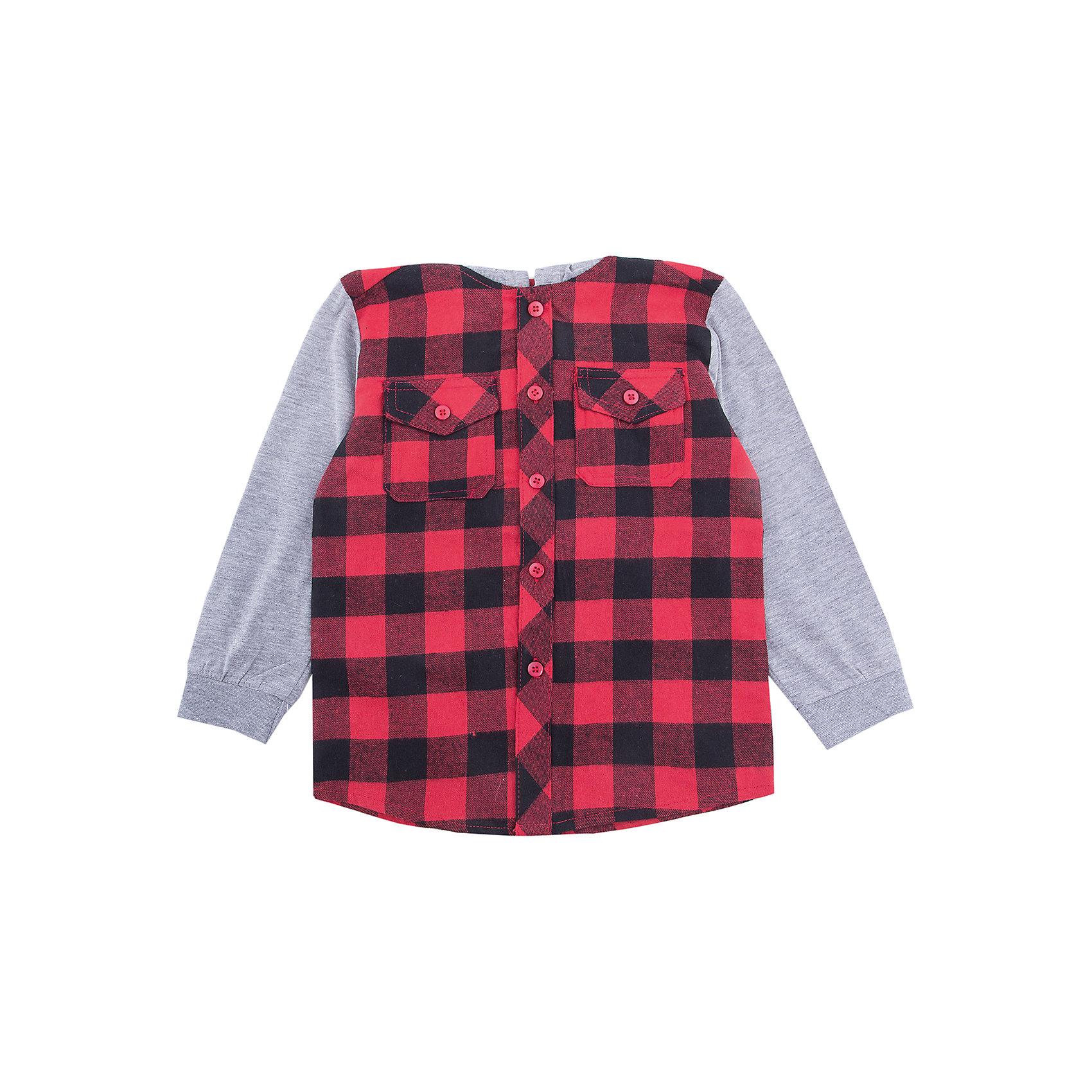 Рубашка PlayToday для мальчикаБлузки и рубашки<br>Рубашка PlayToday для мальчика<br>Эффектная сорочка с капюшоном в стиле кантри.  Практична и очень удобна для повседневной носки. Ткань мягкая и приятная на ощупь, не раздражает нежную детскую кожу. Стиль отвечает всем последним тенденциям детской моды. Модель с двумя накладными карманами. Манжеты на мягких трикотажных резинках. Капюшон и рукава контрастного цвета.<br>Состав:<br>80% хлопок, 20% полиэстер<br><br>Ширина мм: 174<br>Глубина мм: 10<br>Высота мм: 169<br>Вес г: 157<br>Цвет: белый<br>Возраст от месяцев: 84<br>Возраст до месяцев: 96<br>Пол: Мужской<br>Возраст: Детский<br>Размер: 128,98,104,110,116,122<br>SKU: 7111365
