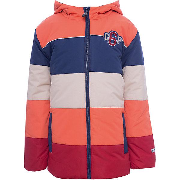 Куртка PlayToday для мальчикаДемисезонные куртки<br>Характеристики товара:<br><br>• цвет: оранжевый<br>• состав ткани: 100% нейлон<br>• подкладка: 100% полиэстер<br>• утеплитель: 100% полиэстер<br>• сезон: демисезон<br>• температурный режим: от -10 до +10<br>• плотность утеплителя: 260 г/м2<br>• особенности модели: с капюшоном<br>• застежка: молния<br>• капюшон: без меха, несъемный<br>• длинные рукава<br>• страна бренда: Германия<br>• страна изготовитель: Китай<br><br>Детская одежда и обувь от PlayToday - это стильные вещи по доступным ценам. Эта детская куртка из водоотталкивающей ткани. Утепленная куртка для мальчика отличается стильным дизайном. Куртка для детей застегивается на молнию. <br><br>Куртку PlayToday (ПлэйТудэй) для мальчика можно купить в нашем интернет-магазине.<br>Ширина мм: 356; Глубина мм: 10; Высота мм: 245; Вес г: 519; Цвет: белый; Возраст от месяцев: 24; Возраст до месяцев: 36; Пол: Мужской; Возраст: Детский; Размер: 98,128,122,116,110,104; SKU: 7111539;
