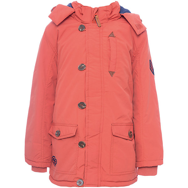 Куртка PlayToday для мальчикаВерхняя одежда<br>Характеристики товара:<br><br>• цвет: оранжевый<br>• состав ткани: 100% нейлон<br>• подкладка: 100% полиэстер<br>• утеплитель: 100% полиэстер<br>• сезон: демисезон<br>• температурный режим: от -10 до +10<br>• плотность утеплителя: 150 г/м2<br>• особенности модели: стеганая, с капюшоном<br>• застежка: молния<br>• капюшон: без меха, съемный<br>• длинные рукава<br>• страна бренда: Германия<br>• страна изготовитель: Китай<br><br>Детская одежда и обувь от PlayToday - это стильные вещи по доступным ценам. Эта детская куртка-парка - с трикотажными манжетами для дополнительного сохранения тепла. Утепленная куртка для мальчика отличается стильным дизайном. Куртка для детей застегивается на молнию. <br><br>Куртку PlayToday (ПлэйТудэй) для мальчика можно купить в нашем интернет-магазине.<br>Ширина мм: 356; Глубина мм: 10; Высота мм: 245; Вес г: 519; Цвет: оранжевый; Возраст от месяцев: 24; Возраст до месяцев: 36; Пол: Мужской; Возраст: Детский; Размер: 98,128,122,116,110,104; SKU: 7111546;
