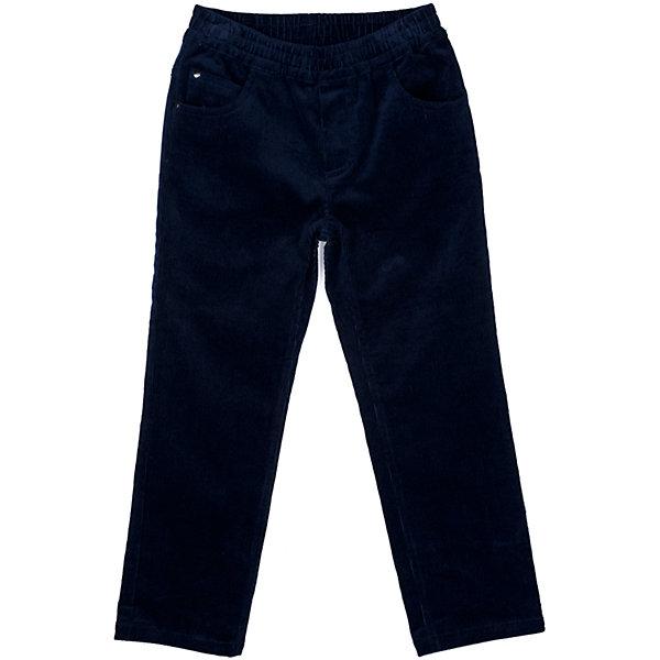 Брюки PlayToday для мальчикаБрюки<br>Характеристики товара:<br><br>• цвет: синий<br>• состав ткани: 97% хлопок, 3% эластан<br>• сезон: демисезон<br>• застежка: пуговица<br>• пояс: резинка<br>• страна бренда: Германия<br>• страна изготовитель: Китай<br><br>Детская одежда и обувь от европейского бренда PlayToday - выбор многих родителей. Вельветовые брюки для мальчика легко надеваются благодаря резинке в поясе. Детские брюки декорированы имитацией молнии. Брюки для детей сделаны из дышащего качественного материала. <br><br>Брюки PlayToday (ПлэйТудэй) для мальчика можно купить в нашем интернет-магазине.<br>Ширина мм: 215; Глубина мм: 88; Высота мм: 191; Вес г: 336; Цвет: синий; Возраст от месяцев: 48; Возраст до месяцев: 60; Пол: Мужской; Возраст: Детский; Размер: 110,104,98,128,122,116; SKU: 7111602;