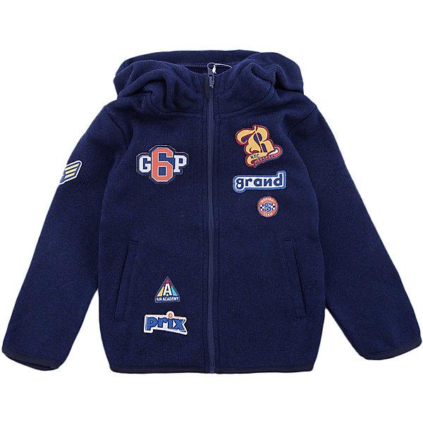 Куртка PlayToday для мальчикаВерхняя одежда<br>Характеристики товара:<br><br>• цвет: синий<br>• состав ткани: 100% полиэстер<br>• сезон: демисезон<br>• особенности модели: с капюшоном<br>• застежка: молния<br>• длинные рукава<br>• страна бренда: Германия<br>• страна изготовитель: Китай<br><br>Теплая толстовка для мальчика снабжена капюшоном. Детская толстовка обеспечит ребенку тепло и комфорт. Толстовка для детей декорирована аппликацией. Детская одежда и обувь от европейского бренда PlayToday - выбор многих родителей. <br><br>Толстовку PlayToday (ПлэйТудэй) для мальчика можно купить в нашем интернет-магазине.<br><br>Ширина мм: 356<br>Глубина мм: 10<br>Высота мм: 245<br>Вес г: 519<br>Цвет: белый<br>Возраст от месяцев: 48<br>Возраст до месяцев: 60<br>Пол: Мужской<br>Возраст: Детский<br>Размер: 110,128,122,116,104,98<br>SKU: 7111651