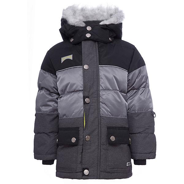 Куртка PlayToday для мальчикаВерхняя одежда<br>Характеристики товара:<br><br>• цвет: серый<br>• состав ткани: 100% полиэстер<br>• подкладка: 100% полиэстер<br>• утеплитель: 100% полиэстер<br>• сезон: зима<br>• температурный режим: от -20 до +5<br>• плотность утеплителя: 300 г/м2<br>• особенности модели: стеганая, с капюшоном<br>• застежка: молния<br>• капюшон: с мехом, съемный<br>• длинные рукава<br>• страна бренда: Германия<br>• страна изготовитель: Китай<br><br>Детская одежда и обувь от PlayToday - это стильные вещи по доступным ценам. Теплая детская куртка - с капюшоном с опушкой. Утепленная куртка для мальчика отличается стильным дизайном. Куртка для детей дополнена снегозащитной юбкой. <br><br>Куртку PlayToday (ПлэйТудэй) для мальчика можно купить в нашем интернет-магазине.<br>Ширина мм: 356; Глубина мм: 10; Высота мм: 245; Вес г: 519; Цвет: белый; Возраст от месяцев: 84; Возраст до месяцев: 96; Пол: Мужской; Возраст: Детский; Размер: 128,98,104,110,116,122; SKU: 7111764;