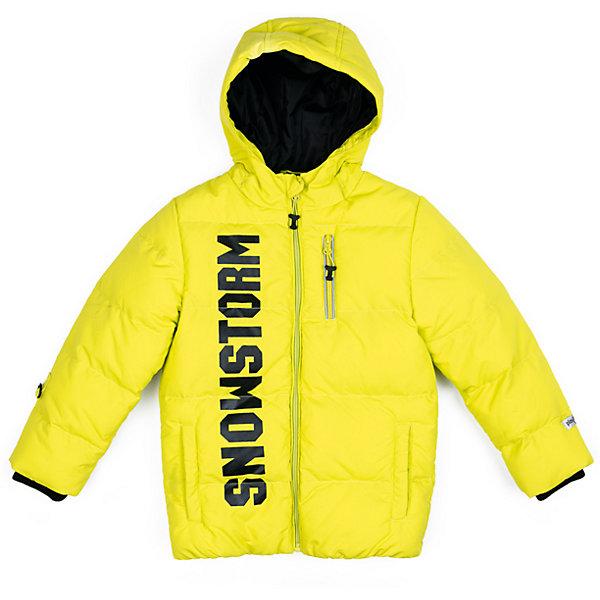 Куртка PlayToday для мальчикаДемисезонные куртки<br>Характеристики товара:<br><br>• цвет: желтый<br>• состав ткани: 100% нейлон<br>• подкладка: 100% полиэстер<br>• утеплитель: 100% полиэстер<br>• сезон: зима<br>• температурный режим: от -15 до +5<br>• плотность утеплителя: 200 г/м2<br>• особенности модели: стеганая, с капюшоном<br>• застежка: молния<br>• капюшон: без меха, несъемный<br>• длинные рукава<br>• страна бренда: Германия<br>• страна изготовитель: Китай<br><br>Теплая детская куртка - с капюшоном. Утепленная куртка для мальчика отличается стильным дизайном. Куртка для детей - из плотной водонепроницаемой ткани. Детская одежда и обувь от PlayToday - это стильные вещи по доступным ценам. <br><br>Куртку PlayToday (ПлэйТудэй) для мальчика можно купить в нашем интернет-магазине.<br>Ширина мм: 356; Глубина мм: 10; Высота мм: 245; Вес г: 519; Цвет: желтый; Возраст от месяцев: 24; Возраст до месяцев: 36; Пол: Мужской; Возраст: Детский; Размер: 98,128,122,116,110,104; SKU: 7111771;