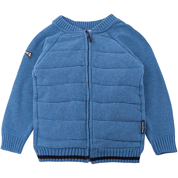 Кардиган PlayToday для мальчикаСвитера и кардиганы<br>Характеристики товара:<br><br>• цвет: голубой<br>• состав ткани: 60% хлопок, 40% акрил<br>• сезон: демисезон<br>• застежка: молния<br>• длинные рукава<br>• страна бренда: Германия<br>• страна изготовитель: Китай<br><br>Кардиган для мальчика - удобная и модная вещь. Детский кардиган дополнен мягкими манжетами. Теплый кардиган для детей сделан из смесовой ткани, на молнии. Одежда и аксессуары для детей от PlayToday - это качественные и красивые вещи. <br><br>Кардиган PlayToday (ПлэйТудэй) для мальчика можно купить в нашем интернет-магазине.<br>Ширина мм: 190; Глубина мм: 74; Высота мм: 229; Вес г: 236; Цвет: голубой; Возраст от месяцев: 36; Возраст до месяцев: 48; Пол: Мужской; Возраст: Детский; Размер: 104,98,128,122,116,110; SKU: 7111792;