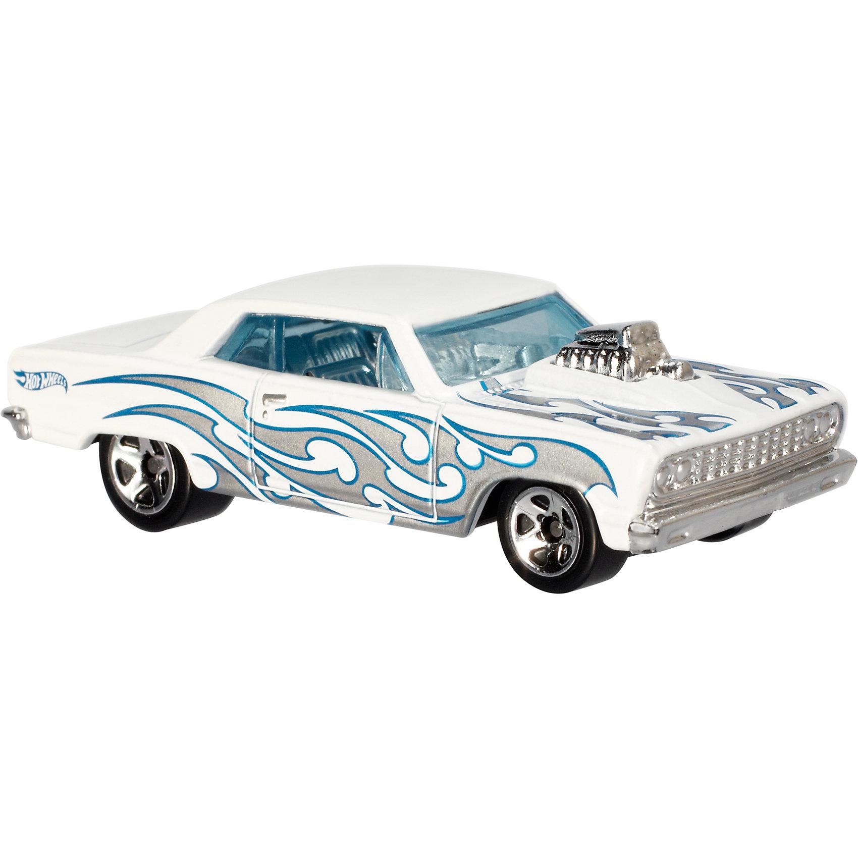 Базовая машинка Hot Wheels, 64 Chevy Chevelle SSПопулярные игрушки<br><br><br>Ширина мм: 110<br>Глубина мм: 45<br>Высота мм: 110<br>Вес г: 30<br>Возраст от месяцев: 36<br>Возраст до месяцев: 96<br>Пол: Мужской<br>Возраст: Детский<br>SKU: 7111906