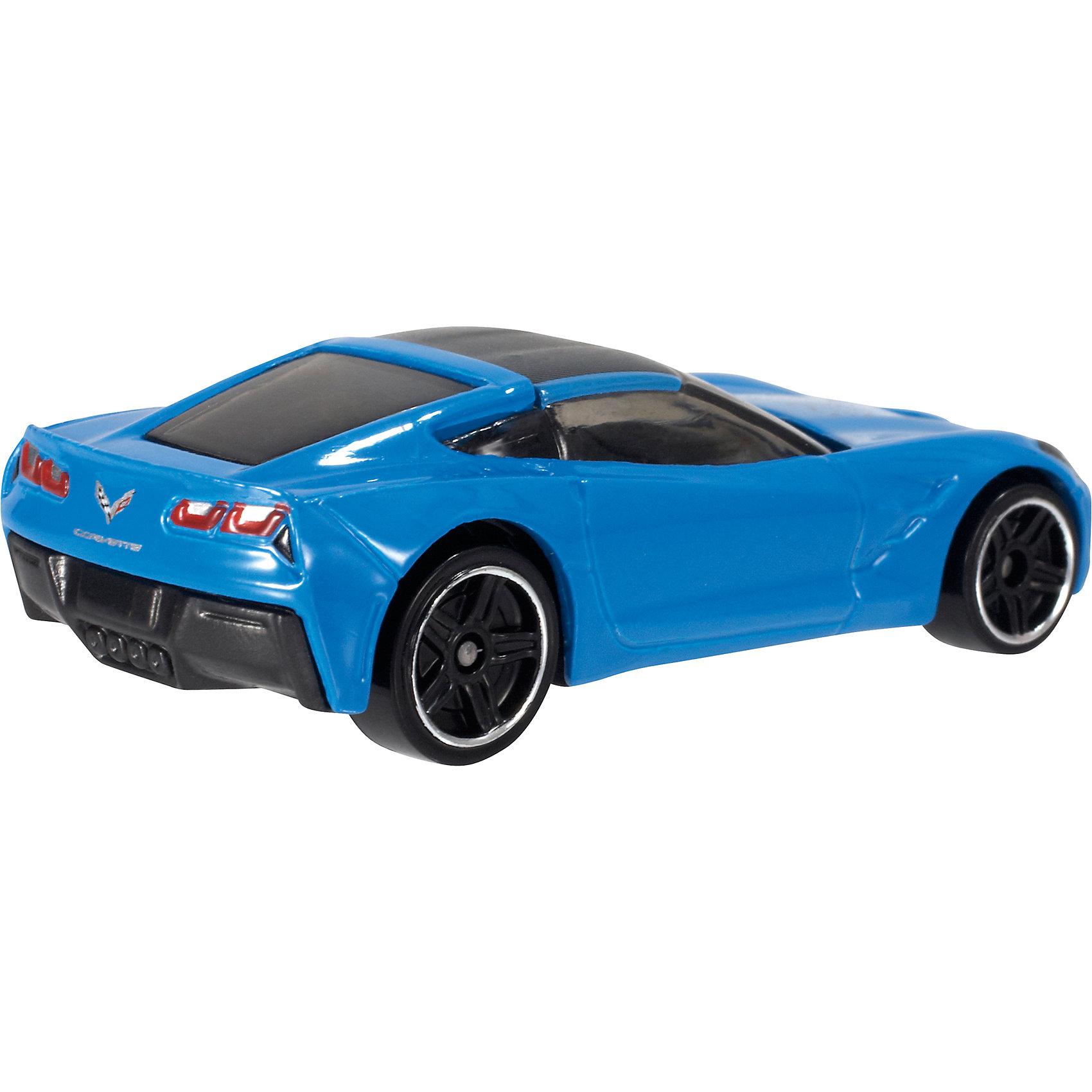 Базовая машинка Hot Wheels, 2014 Corvette StingrayМашинки<br><br><br>Ширина мм: 110<br>Глубина мм: 45<br>Высота мм: 110<br>Вес г: 30<br>Возраст от месяцев: 36<br>Возраст до месяцев: 96<br>Пол: Мужской<br>Возраст: Детский<br>SKU: 7111915