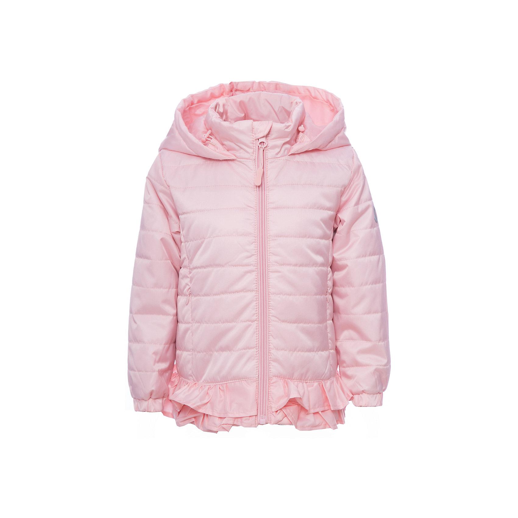 Куртка PlayToday для девочкиВерхняя одежда<br>Куртка PlayToday для девочки<br>Стеганая утепленная куртка из водоотталкивающей ткани. Модель на молнии, специальный карман для бегунка не позволит застежке травмировать нежную детскую кожу. Манжеты на широких трикотажных резинках для дополнительного сохранения тепла. Низ куртки на резинке, декорирован небольшой оборкой, дающей эффект юбочки. Светоотражетели обеспечат видимость ребенка в темное время суток. Модель с капюшоном.<br>Состав:<br>Верх: 100% полиэстер, Подкладка: 100% полиэстер, Наполнитель: 100% полиэстер, 150 г/м2<br><br>Ширина мм: 356<br>Глубина мм: 10<br>Высота мм: 245<br>Вес г: 519<br>Цвет: белый<br>Возраст от месяцев: 84<br>Возраст до месяцев: 96<br>Пол: Женский<br>Возраст: Детский<br>Размер: 128,122,98,104,110,116<br>SKU: 7115323