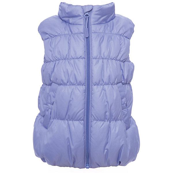 Жилет PlayToday для девочкиВерхняя одежда<br>Характеристики товара:<br><br>• цвет: голубой<br>• состав ткани: 100% полиэстер<br>• подкладка: 100% полиэстер<br>• утеплитель: 100% полиэстер<br>• сезон: демисезон<br>• плотность утеплителя: 150 г/м2<br>• особенности модели: стеганая<br>• застежка: молния<br>• страна бренда: Германия<br>• страна изготовитель: Китай<br><br>Теплый жилет для детей сделан из качественного материала с водоотталкивающей пропиткой. Жилет для девочки - удобная и модная вещь. Детский жилет дополнен молнией для удобства надевания. Одежда и аксессуары для детей от PlayToday - это качественные и красивые вещи. <br><br>Жилет PlayToday (ПлэйТудэй) для девочки можно купить в нашем интернет-магазине.<br><br>Ширина мм: 190<br>Глубина мм: 74<br>Высота мм: 229<br>Вес г: 236<br>Цвет: голубой<br>Возраст от месяцев: 24<br>Возраст до месяцев: 36<br>Пол: Женский<br>Возраст: Детский<br>Размер: 98,128,122,116,110,104<br>SKU: 7115330
