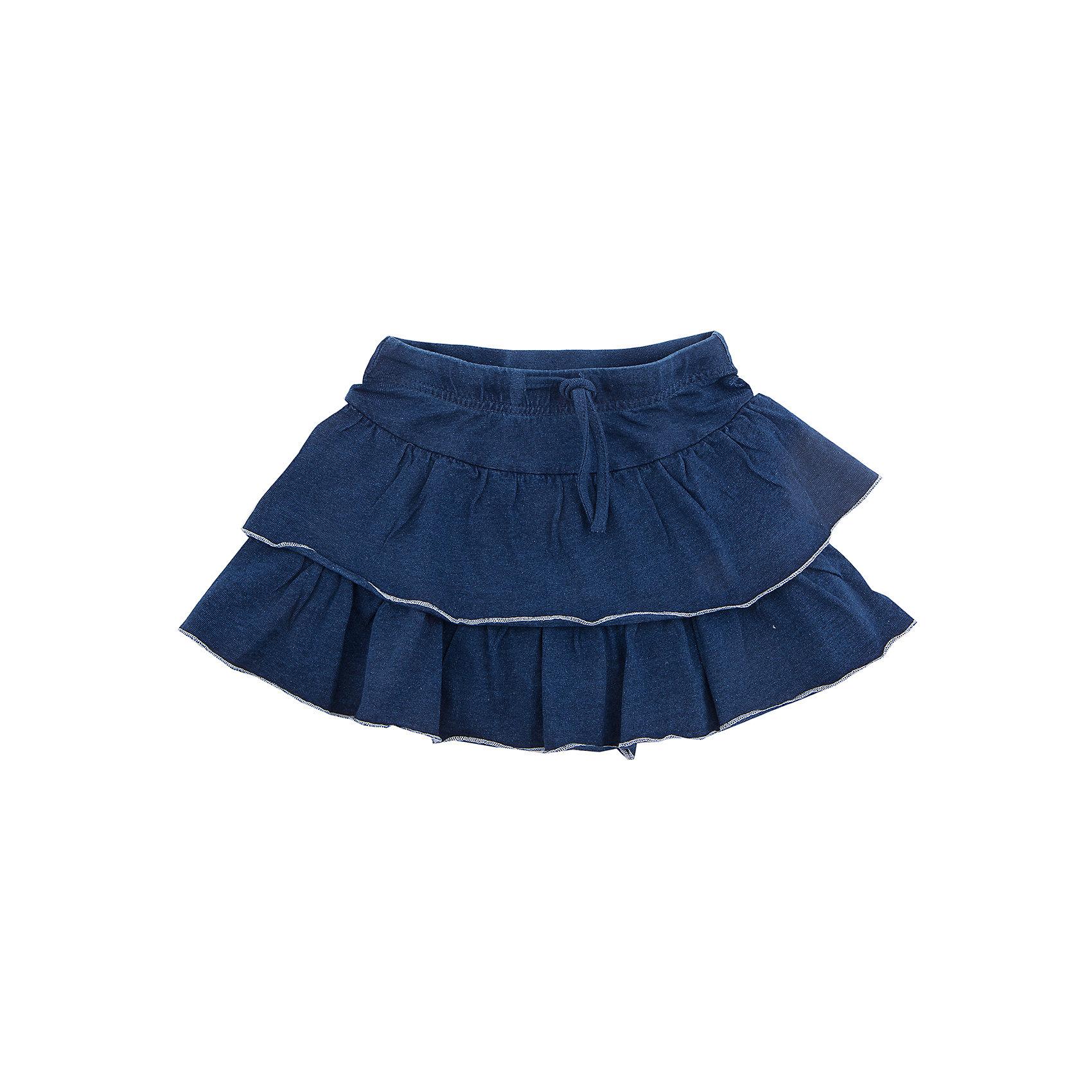 Юбка PlayToday для девочкиЮбки<br>Юбка PlayToday для девочки<br>Трикотажная юбка отлично дополнит повседневный гардероб ребенка. Пояс на широкой резинке, дополнен регулируемым шнуром - кулиской. Модель дополнена двумя рядами пышных оборок.<br>Состав:<br>95% хлопок, 5% эластан<br><br>Ширина мм: 207<br>Глубина мм: 10<br>Высота мм: 189<br>Вес г: 183<br>Цвет: синий<br>Возраст от месяцев: 84<br>Возраст до месяцев: 96<br>Пол: Женский<br>Возраст: Детский<br>Размер: 128,98,104,110,116,122<br>SKU: 7115428