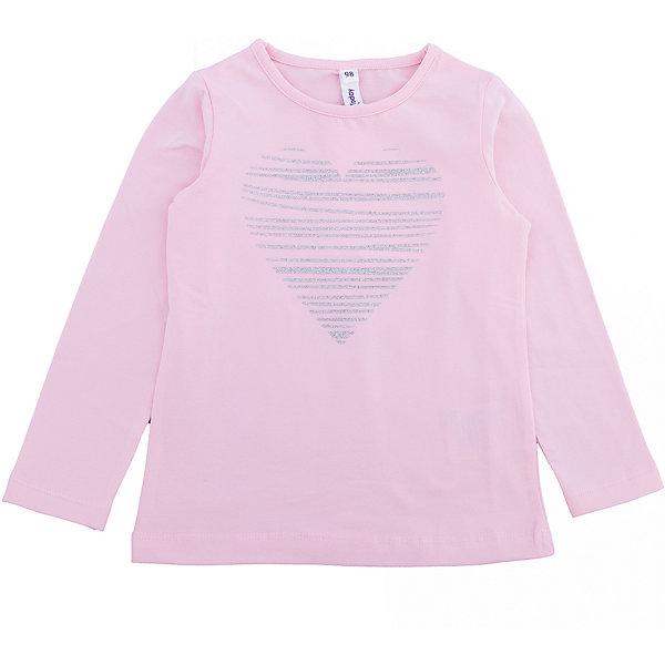 Футболка с длинным рукавом PlayToday для девочкиФутболки с длинным рукавом<br>Характеристики товара:<br><br>• цвет: розовый<br>• состав ткани: 92% хлопок, 8% эластан<br>• сезон: демисезон<br>• длинные рукава<br>• страна бренда: Германия<br>• страна изготовитель: Китай<br><br>Детская одежда и обувь от европейского бренда PlayToday - выбор многих родителей. Трикотажный лонгслив для девочки - удобная и модная вещь. Детский лонгслив декорирован стильным принтом. Такой лонгслив для детей сделан из дышащего трикотажа.<br><br>Лонгслив PlayToday (ПлэйТудэй) для девочки можно купить в нашем интернет-магазине.<br><br>Ширина мм: 199<br>Глубина мм: 10<br>Высота мм: 161<br>Вес г: 151<br>Цвет: белый<br>Возраст от месяцев: 84<br>Возраст до месяцев: 96<br>Пол: Женский<br>Возраст: Детский<br>Размер: 128,98,104,110,116,122<br>SKU: 7115505