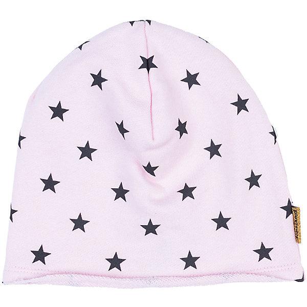 Шапка PlayToday для девочкиГоловные уборы<br>Характеристики товара:<br><br>• цвет: розовый<br>• состав ткани: 80% хлопок, 15% полиэстер, 5% эластан<br>• сезон: демисезон<br>• страна бренда: Германия<br>• страна изготовитель: Китай<br><br>Детская одежда и обувь от PlayToday - это стильные вещи по доступным ценам. Теплая шапка для девочки не линяет и надолго остается в прежнем виде. Детская шапка комфортно сидит на голове благодаря мягкому материалу. Шапка для детей декорирована принтом. <br><br>Шапку PlayToday (ПлэйТудэй) для девочки можно купить в нашем интернет-магазине.<br>Ширина мм: 89; Глубина мм: 117; Высота мм: 44; Вес г: 155; Цвет: белый; Возраст от месяцев: 72; Возраст до месяцев: 84; Пол: Женский; Возраст: Детский; Размер: 54,50,52; SKU: 7115558;