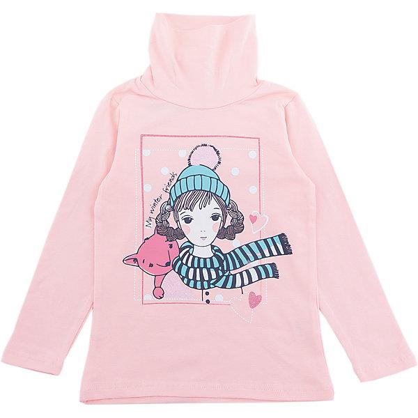 Водолазка PlayToday для девочкиВодолазки<br>Характеристики товара:<br><br>• цвет: розовый<br>• состав ткани: 95% хлопок, 5% эластан<br>• сезон: демисезон<br>• длинные рукава<br>• страна бренда: Германия<br>• страна изготовитель: Китай<br><br>Одежда и аксессуары для детей от PlayToday - это качественные и красивые вещи. Эта водолазка для девочки снабжена мягким воротом. Детская водолазка декорирована принтом. Водолазка для детей сделана из приятного на ощупь трикотажа. <br><br>Водолазку PlayToday (ПлэйТудэй) для девочки можно купить в нашем интернет-магазине.<br><br>Ширина мм: 230<br>Глубина мм: 40<br>Высота мм: 220<br>Вес г: 250<br>Цвет: белый<br>Возраст от месяцев: 24<br>Возраст до месяцев: 36<br>Пол: Женский<br>Возраст: Детский<br>Размер: 98,128,122,116,110,104<br>SKU: 7115709