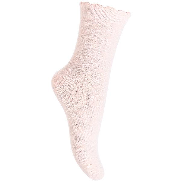 Носки PlayToday для девочкиНоски<br>Характеристики товара:<br><br>• цвет: розовый<br>• состав ткани: 75% хлопок, 22% нейлон, 3% эластан<br>• сезон: круглый год<br>• особенности модели: нарядная<br>• страна бренда: Германия<br>• страна изготовитель: Китай<br><br>Удобные детские носки хорошо сохраняют форму и яркость цвета. Эти трикотажные носки для девочки выполнены в красивой расцветке. Носки для детей сделаны из дышащего мягкого материала. Детская одежда и обувь от PlayToday - это стильные вещи по доступным ценам. <br><br>Носки PlayToday (ПлэйТудэй) для девочки можно купить в нашем интернет-магазине.<br>Ширина мм: 87; Глубина мм: 10; Высота мм: 105; Вес г: 115; Цвет: белый; Возраст от месяцев: 36; Возраст до месяцев: 48; Пол: Женский; Возраст: Детский; Размер: 18,16,14; SKU: 7115763;
