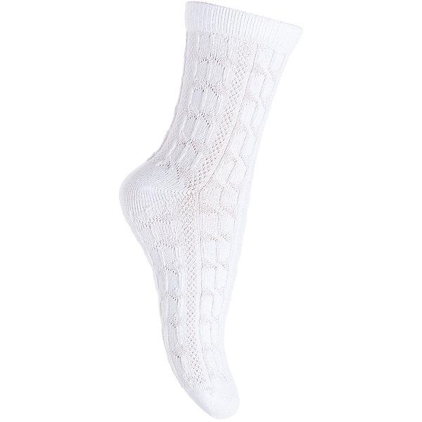 Носки PlayToday для девочкиНоски<br>Характеристики товара:<br><br>• цвет: белый<br>• состав ткани: 75% хлопок, 22% нейлон, 3% эластан<br>• сезон: круглый год<br>• особенности модели: нарядная<br>• страна бренда: Германия<br>• страна изготовитель: Китай<br><br>Такие трикотажные носки для девочки выполнены в красивой расцветке. Удобные детские носки хорошо сохраняют форму и яркость цвета.  Носки для детей сделаны из дышащего мягкого материала. Детская одежда и обувь от PlayToday - это стильные вещи по доступным ценам. <br><br>Носки PlayToday (ПлэйТудэй) для девочки можно купить в нашем интернет-магазине.<br><br>Ширина мм: 87<br>Глубина мм: 10<br>Высота мм: 105<br>Вес г: 115<br>Цвет: белый<br>Возраст от месяцев: 36<br>Возраст до месяцев: 48<br>Пол: Женский<br>Возраст: Детский<br>Размер: 14,18,16<br>SKU: 7115767