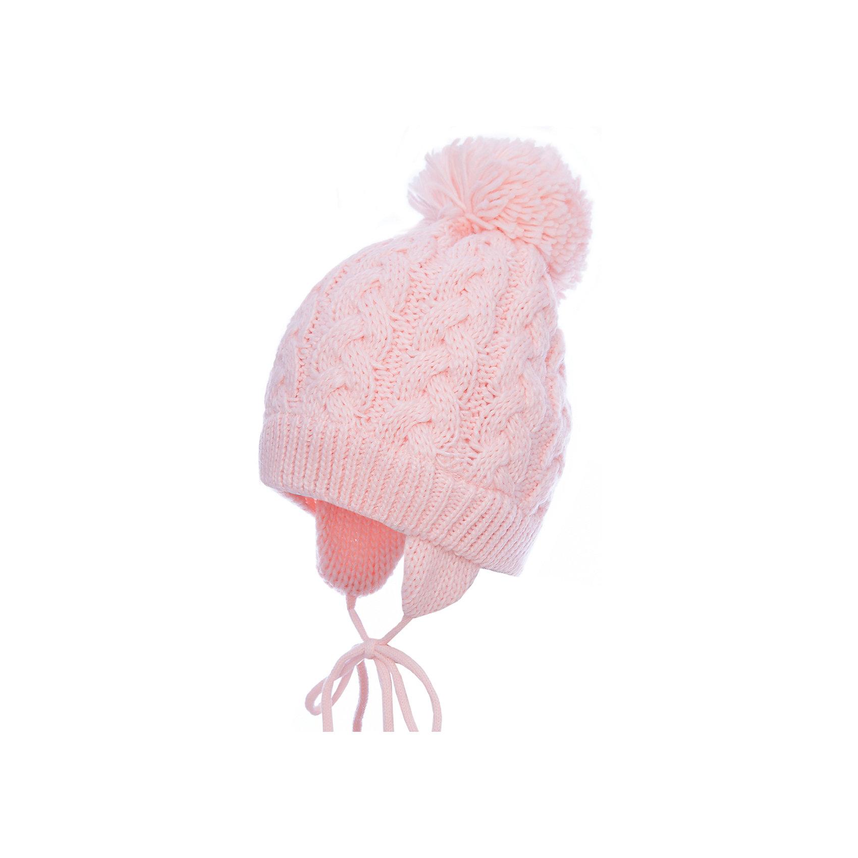 Шапка PlayToday для девочкиГоловные уборы<br>Шапка PlayToday для девочки<br>Вязаная шапка всегда актуальна в зимнем гардеробе ребенка. Модель на подкладке из теплого флиса. Шапка на завязках, плотно прилегает к голове, комфортна при носке. Декорирована большим помпоном.<br>Состав:<br>Верх: 100% акрил,  подкладка: 100% полиэстер<br><br>Ширина мм: 89<br>Глубина мм: 117<br>Высота мм: 44<br>Вес г: 155<br>Цвет: белый<br>Возраст от месяцев: 72<br>Возраст до месяцев: 84<br>Пол: Женский<br>Возраст: Детский<br>Размер: 54,50,52<br>SKU: 7115793