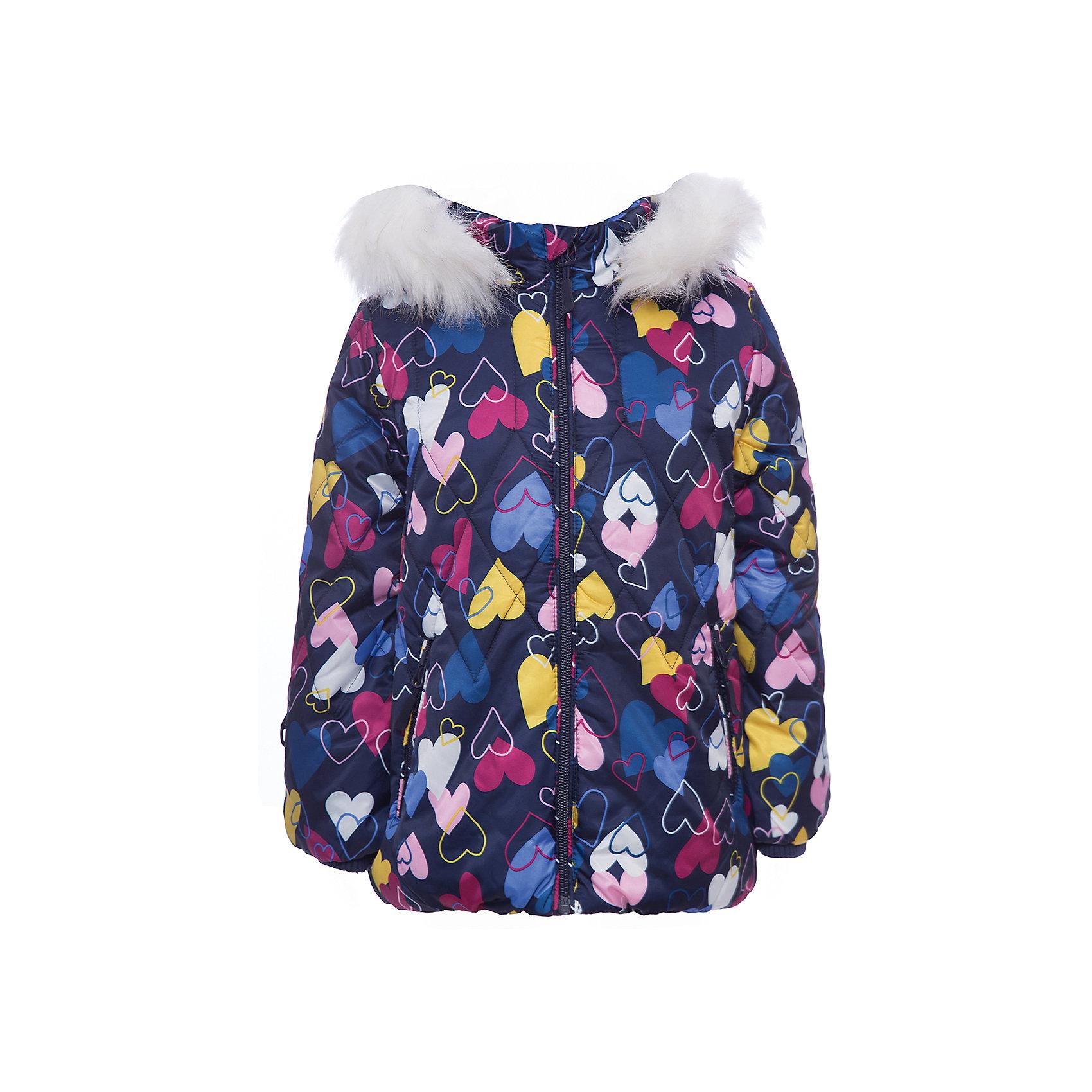 Куртка PlayToday для девочкиВерхняя одежда<br>Куртка PlayToday для девочки<br>Теплая стеганая куртка из ткани с водоотталкивающей пропиткой - отличное решение для холодной погоды. Вшивной капюшон декорирован искусственным мехом на кнопках. Подкладка из теплого флиса. Модель со снегозащитной юбкой. Рукава дополнены специальными кольцами для перчаток. Куртка на молнии. Специальный карман для фиксации бегунка не позволит застежке травмировать нежную детскую кожу. Трикотажный воротник не вызывает раздражений и неприятных ощущений.<br>Состав:<br>Верх: 100% полиэстер, Подкладка: 100% полиэстер, Наполнитель: 100% полиэстер, 300 г/м2<br><br>Ширина мм: 356<br>Глубина мм: 10<br>Высота мм: 245<br>Вес г: 519<br>Цвет: белый<br>Возраст от месяцев: 84<br>Возраст до месяцев: 96<br>Пол: Женский<br>Возраст: Детский<br>Размер: 128,98,104,110,116,122<br>SKU: 7115804
