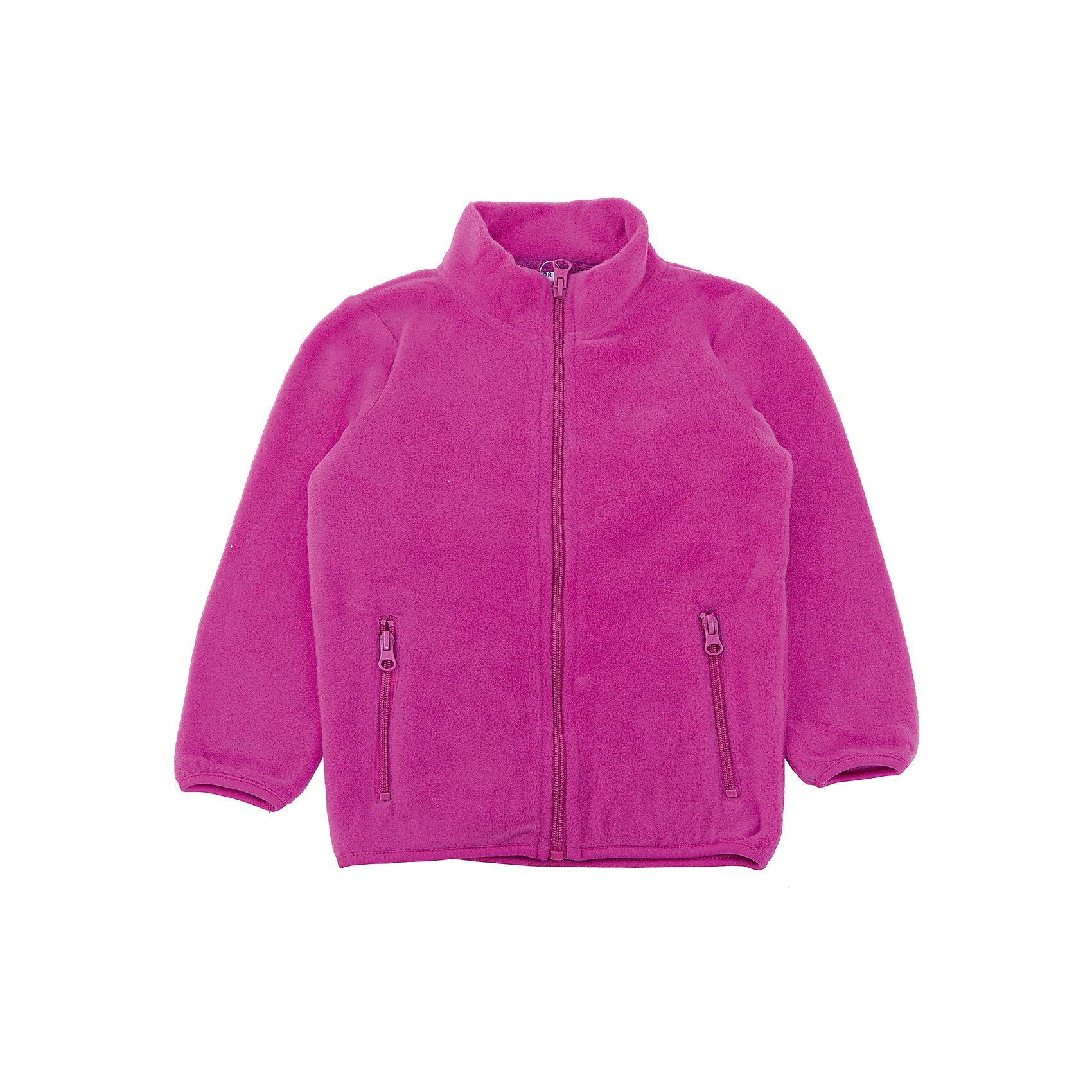 Куртка PlayToday для девочкиФлис и термобелье<br>Куртка PlayToday для девочки<br>Куртка из мягкого флиса - отлично подойдет в качестве второго слоя для прогулок в холодную погоду. Модель на молнии. Специальный карман для бегунка не позволит застежке травмитровать нежную детскую кожу. Высокий воротник - стойка защитит горло ребенка. Манжеты и низ изделия на мягкой резинке.<br>Состав:<br>100% полиэстер<br><br>Ширина мм: 356<br>Глубина мм: 10<br>Высота мм: 245<br>Вес г: 519<br>Цвет: розовый<br>Возраст от месяцев: 24<br>Возраст до месяцев: 36<br>Пол: Женский<br>Возраст: Детский<br>Размер: 98,128,122,116,110,104<br>SKU: 7115867
