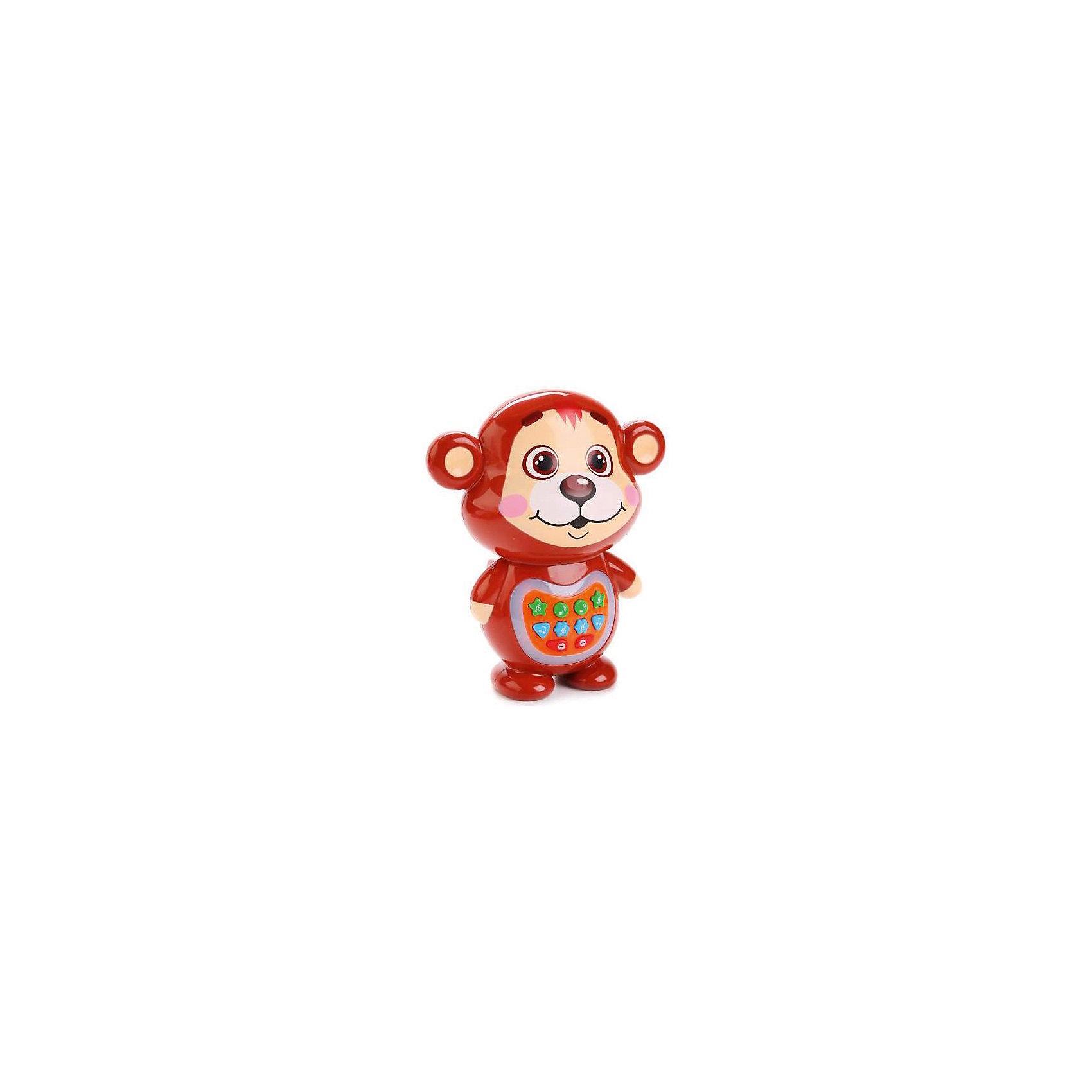 Интерактивная игрушка Умка Медвежонок-сказочник, стихи ЧуковскогоИнтерактивные игрушки для малышей<br>Характеристики товара:<br><br>• возраст: от 3 лет;   <br>• комплектация: 1 игрушка; <br>• питание: 3 батарейки типа АА, входят в комплект; <br>• сказки: «Айболит», «Мойдодыр», «Муха-Цокотуха», «Краденое солнце», «Телефон», «Чудо-дерево», «Путаница», «Скрюченная песня»;<br>• материал: пластик;<br>• упаковка: картонная коробка;<br>• размер: 22х9х17 см.;<br>• бренд: Умка; <br>• вес: 0,36 кг.;<br>• страна обладатель: Россия. <br><br> Яркий веселый медвежонок-сказочник расскажет 8 сказок и стихов К.И.Чуковского: Айболит, Мойдодыр, Муха цокотуха, Краденое Солнце, Телефон, Чудо-дерево, Путаница, Скрюченная песня На животике у мишки находятся кнопки, нажимая их, мишка расскажет сказки, стихи. Имеет световые эффекты. Можно регулировать громкость. <br><br>Развивает зрение, память, осязание, воображение, мелкую моторику, слух, логику, кооординацию движений. Игрушка сделана из прочного высококачественного материала. Рекомендовано детям от 3-х лет. Работает от 3 батарейках типа АА (входят в комплект).                                                                                                                                                                                                                                                                                                                                                                                                                                                                                                                                                                                                <br><br>Медвежонока-сказочника можно купить в нашем интернет-магазине.<br><br>Ширина мм: 220<br>Глубина мм: 90<br>Высота мм: 170<br>Вес г: 360<br>Возраст от месяцев: 36<br>Возраст до месяцев: 60<br>Пол: Унисекс<br>Возраст: Детский<br>SKU: 7117604