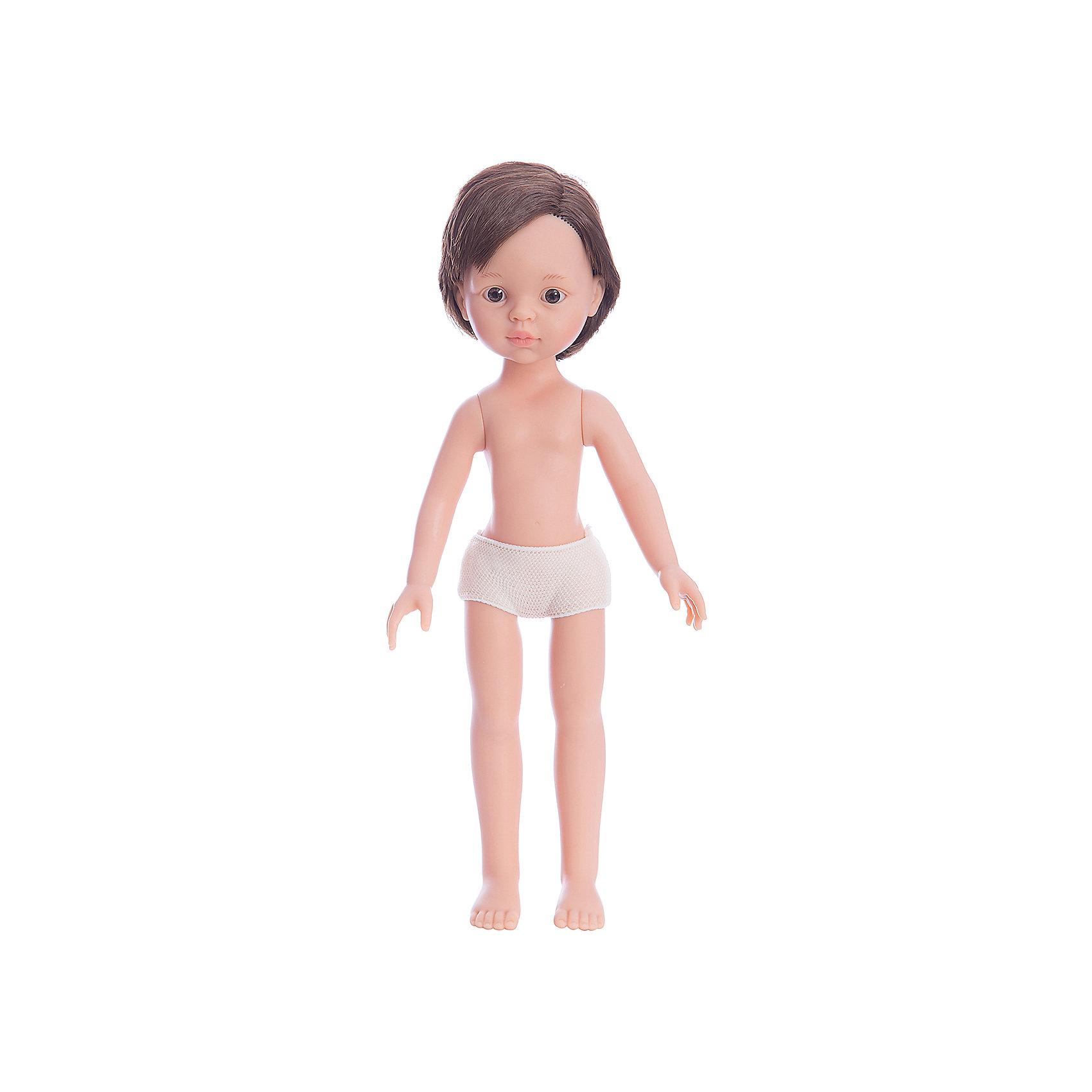 Кукла Paola Reina Висент без одежды, 32 смБренды кукол<br><br><br>Ширина мм: 70<br>Глубина мм: 140<br>Высота мм: 320<br>Вес г: 330<br>Возраст от месяцев: 36<br>Возраст до месяцев: 144<br>Пол: Женский<br>Возраст: Детский<br>SKU: 7118840