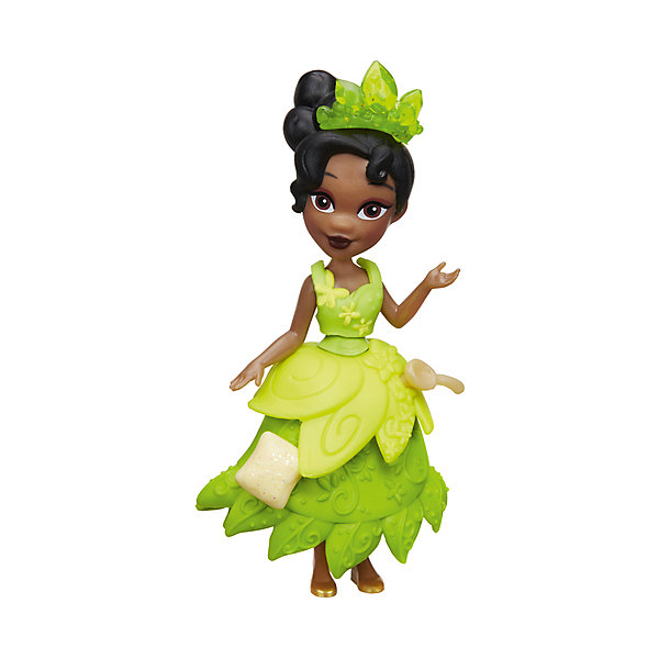 Мини-кукла Hasbro Disney Princess, Принцесса ТианаПринцессы Игрушки<br>Характеристики:<br><br>• очаровательная куколка помогает раскрыть творческий потенциал девочки, позволяет фантазировать и обыгрывать различные сюжетные линии с участием пренцессы Дисней;<br>• мини-куколки легко помещаются в маленькой ладошке;<br>• куклу можно взять с собой, поместить в рюкзачок или карман курточки;<br>• каждая кукла занимает определенную позу;<br>• руки-ноги куклы неподвижны, героиня замерла в танцевальном па;<br>• куколка одета в яркий наряд, характерный для диснеевских героинь;<br>• одежда не снимается;<br>• полимерные куколки приятны на ощупь;<br>• высота куколки составляет 15 см;<br>• размер упаковки: 17,5х15,5х6 см;<br>• вес: 100 г.<br><br>Мини-кукла, Принцессы Дисней, в ассортименте можно купить в нашем интернет-магазине.<br><br>Ширина мм: 176<br>Глубина мм: 152<br>Высота мм: 63<br>Вес г: 100<br>Возраст от месяцев: 48<br>Возраст до месяцев: 96<br>Пол: Женский<br>Возраст: Детский<br>SKU: 7120185
