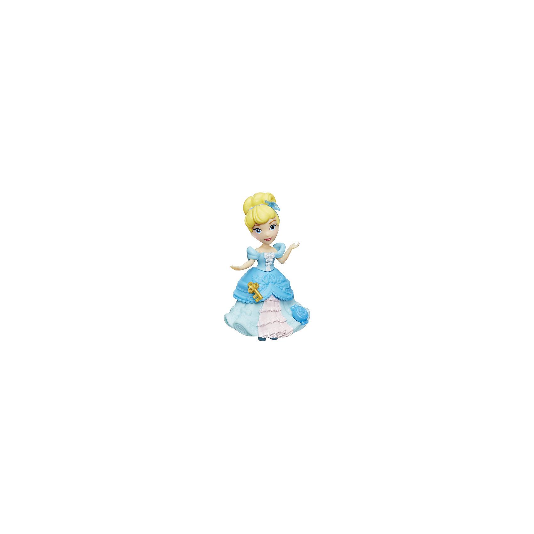 Мини-кукла Hasbro Disney Princess, ЗолушкаМини-куклы<br><br><br>Ширина мм: 176<br>Глубина мм: 152<br>Высота мм: 63<br>Вес г: 100<br>Возраст от месяцев: 48<br>Возраст до месяцев: 96<br>Пол: Женский<br>Возраст: Детский<br>SKU: 7120187