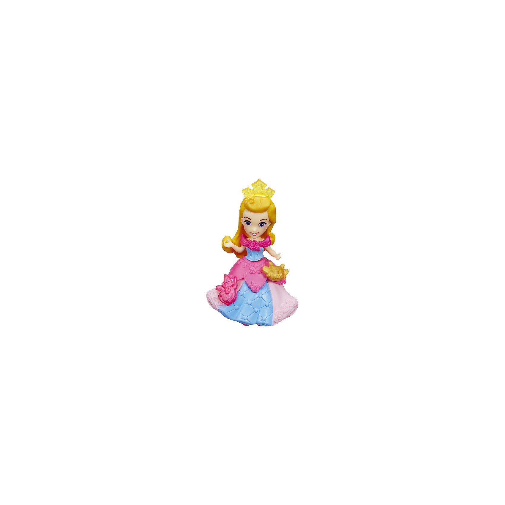 Мини-кукла Hasbro Disney Princess, Спящая красавица АврораПопулярные игрушки<br>Характеристики:<br><br>• очаровательная куколка помогает раскрыть творческий потенциал девочки, позволяет фантазировать и обыгрывать различные сюжетные линии с участием пренцессы Дисней;<br>• мини-куколки легко помещаются в маленькой ладошке;<br>• куклу можно взять с собой, поместить в рюкзачок или карман курточки;<br>• каждая кукла занимает определенную позу;<br>• руки-ноги куклы неподвижны, героиня замерла в танцевальном па;<br>• куколка одета в яркий наряд, характерный для диснеевских героинь;<br>• одежда не снимается;<br>• полимерные куколки приятны на ощупь;<br>• высота куколки составляет 15 см;<br>• размер упаковки: 17,5х15,5х6 см;<br>• вес: 100 г.<br><br>Мини-кукла, Принцессы Дисней, в ассортименте можно купить в нашем интернет-магазине.<br><br>Ширина мм: 176<br>Глубина мм: 152<br>Высота мм: 63<br>Вес г: 100<br>Возраст от месяцев: 48<br>Возраст до месяцев: 96<br>Пол: Женский<br>Возраст: Детский<br>SKU: 7120188